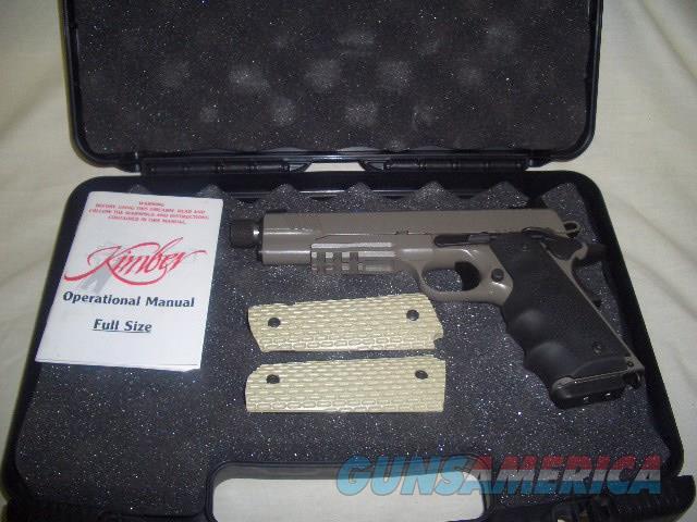KIMBER DESERT WARRIOR TFS WITH LASER GRIP IN 45ACP  Guns > Pistols > Kimber of America Pistols > 1911