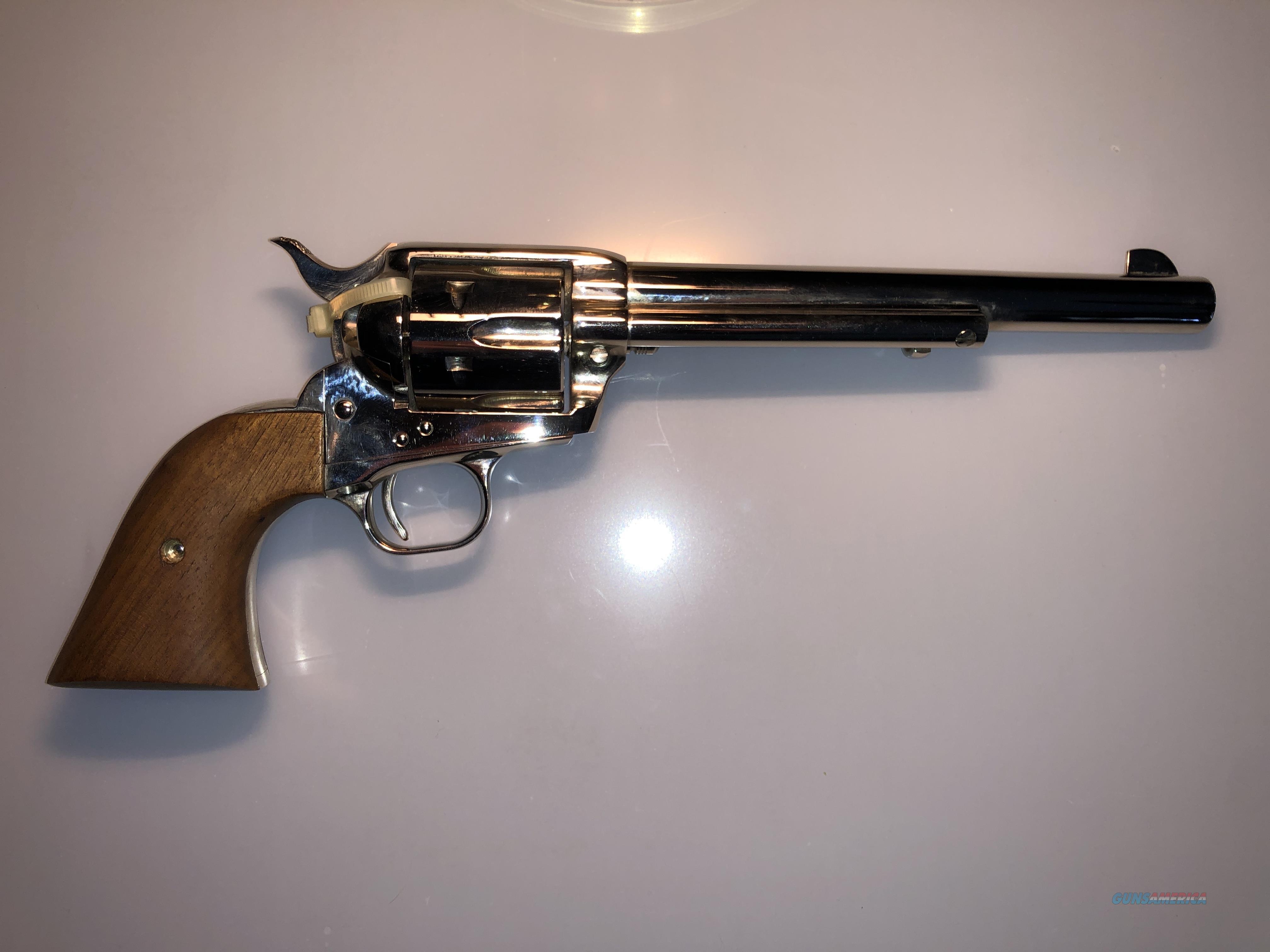 """Colt SAA 7-1/2"""" Barrel .44 Special - Nickel Finish - New In Box  Guns > Pistols > Colt Single Action Revolvers - 3rd Gen."""