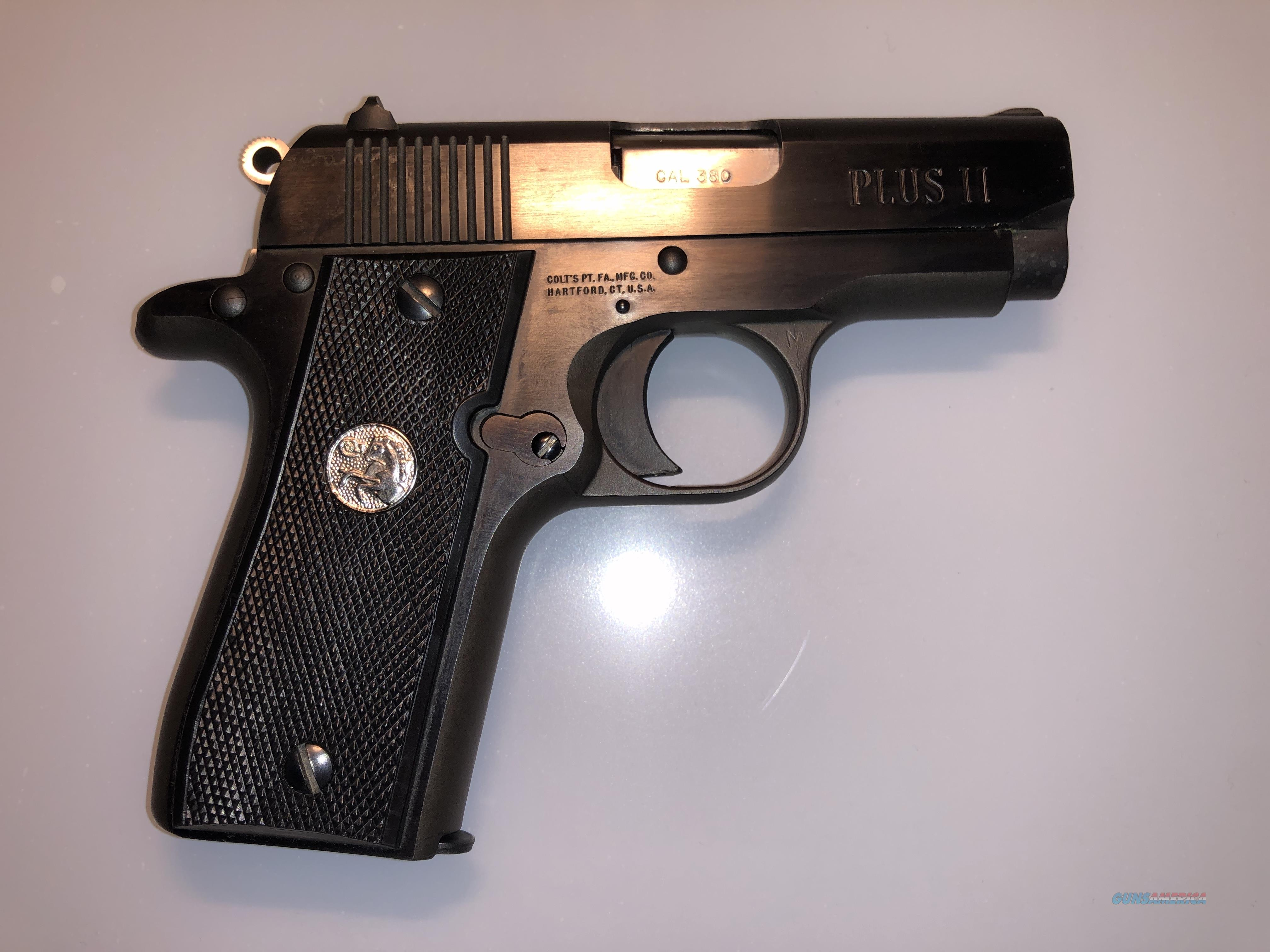 Colt Mustang Plus II .380 ACP - With Box & 3 Mags - Like New  Guns > Pistols > Colt Automatic Pistols (.25, .32, & .380 cal)