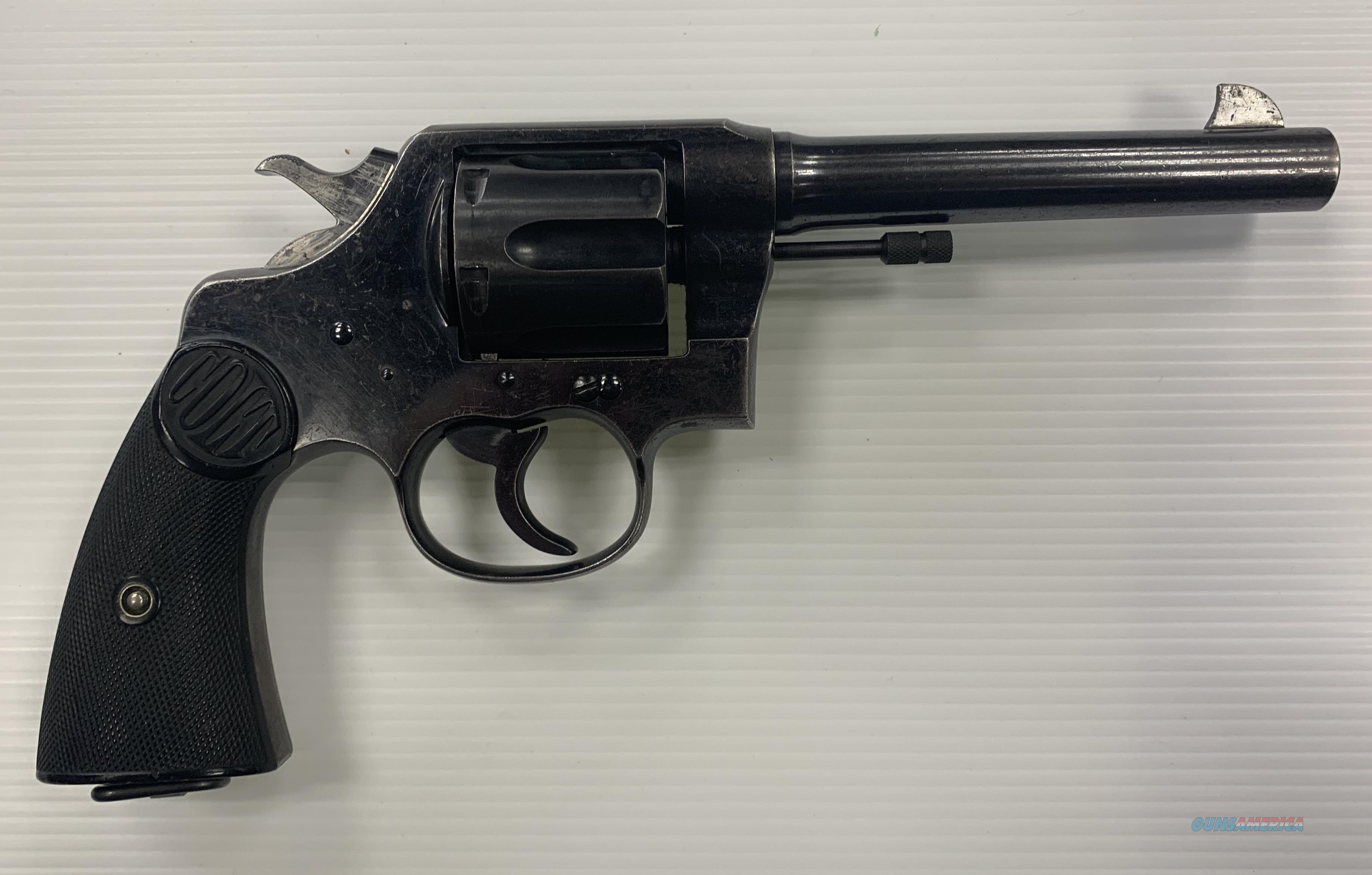"COLT NEW SERVICE .45LC 5.5""  Guns > Pistols > Colt Double Action Revolvers- Modern"