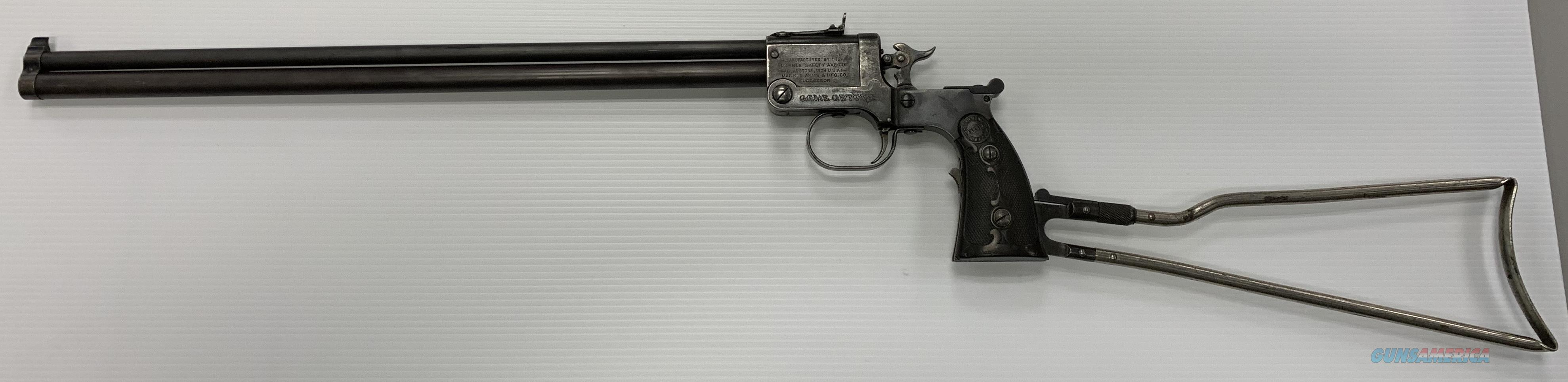Marbles Game Getter .44 Shot / .22RF   Guns > Rifles > MN Misc Rifles