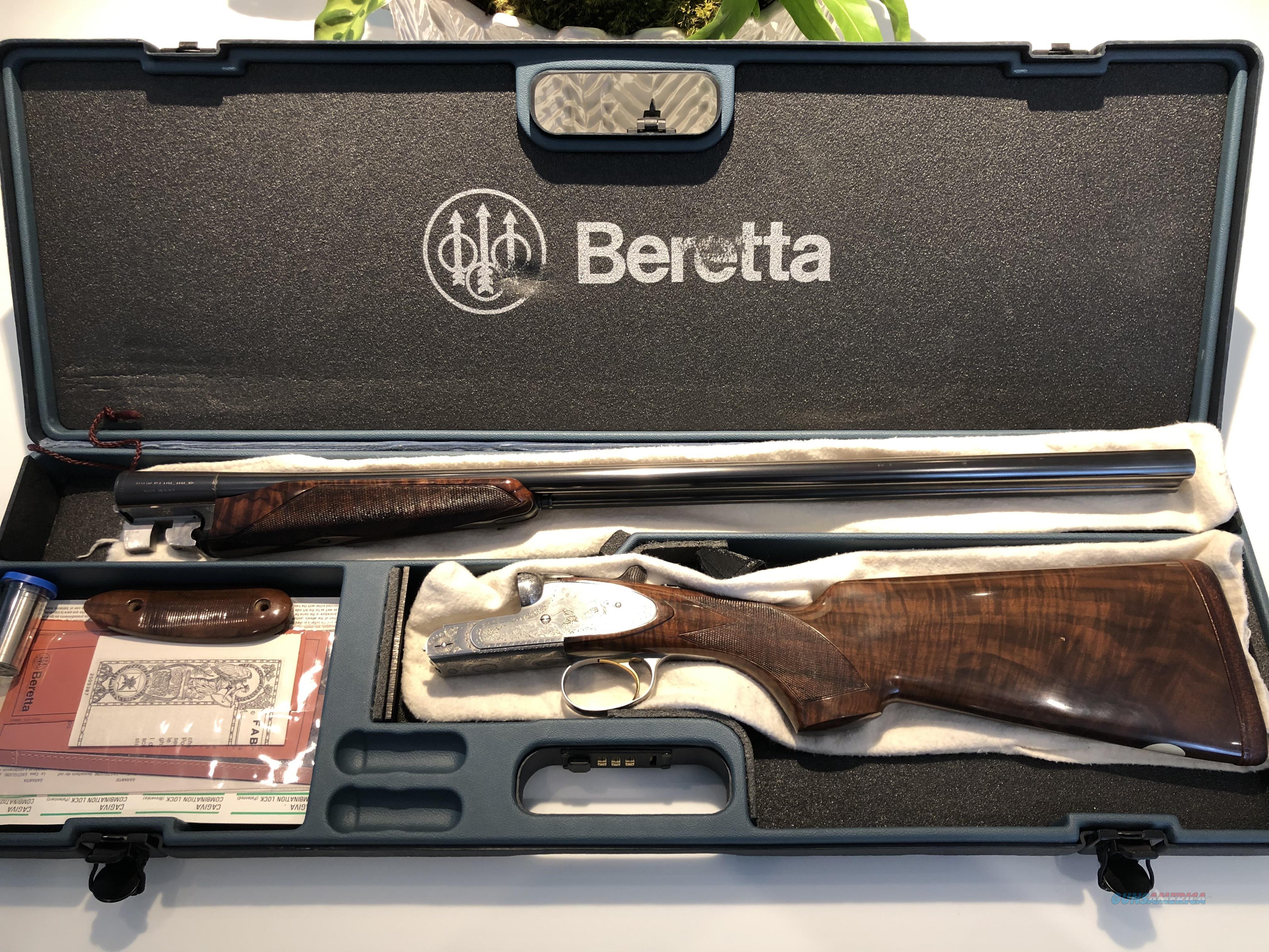 Beretta 627EELL   Guns > Shotguns > Beretta Shotguns > SxS
