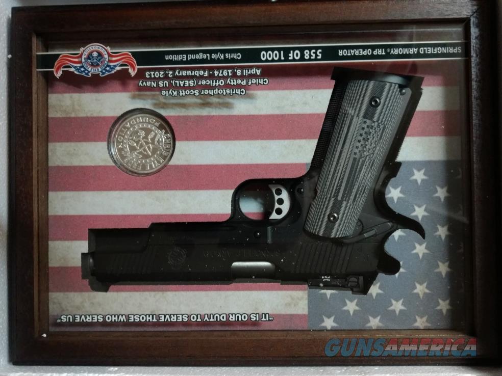 CHRIS KYLE LIMITED EDITION TRP OPERATOR TRIBUTE   Guns > Pistols > Springfield Armory Pistols > 1911 Type