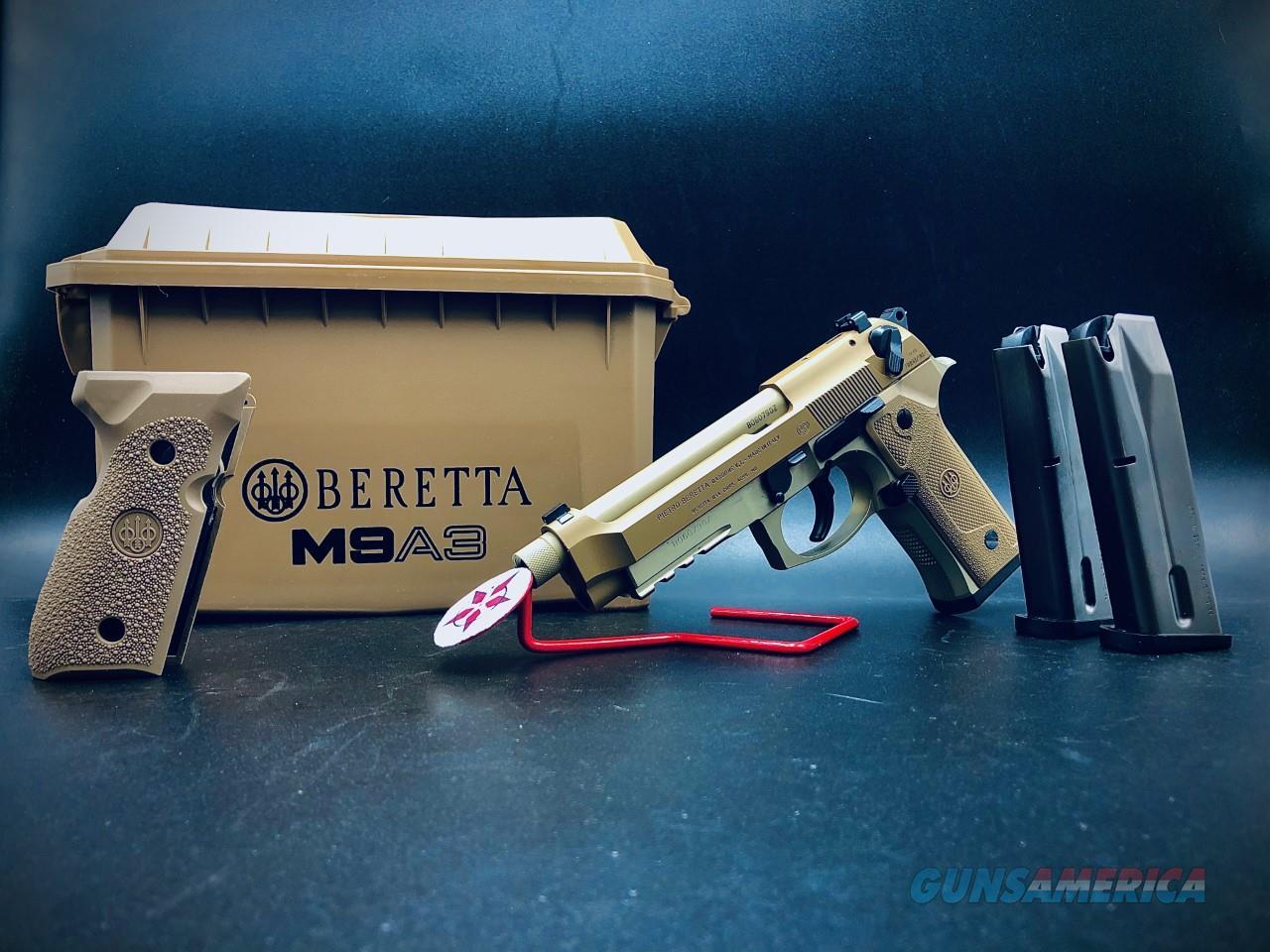 M9A3 FDE CLEARANCE  Guns > Pistols > Beretta Pistols > M9