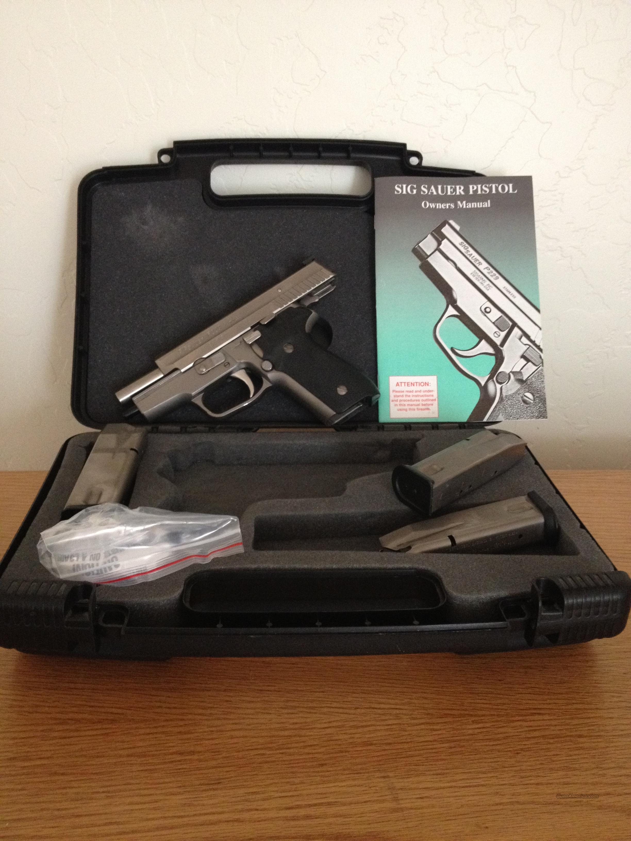 Sig P229 with NP3 and TJs custom tuning  Guns > Pistols > Sig - Sauer/Sigarms Pistols > P229