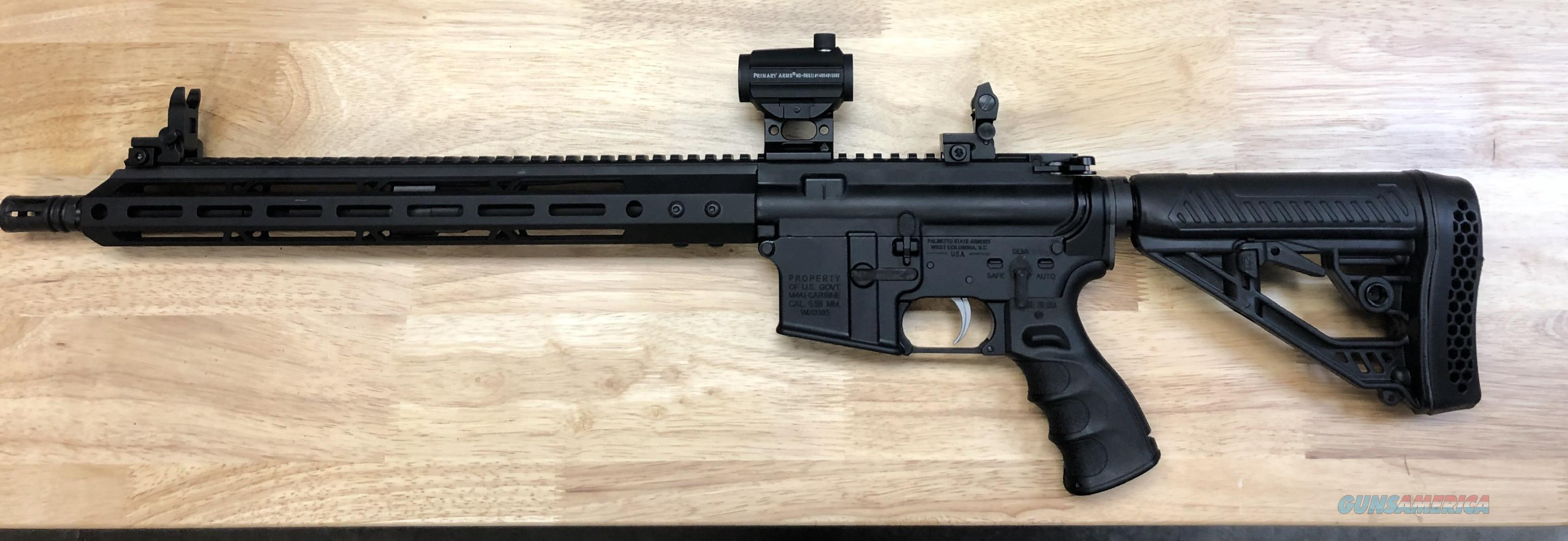 Palmetto State Armory Exclusive Lower combat rifle system  Guns > Rifles > Custom Rifles > AR-15 Family