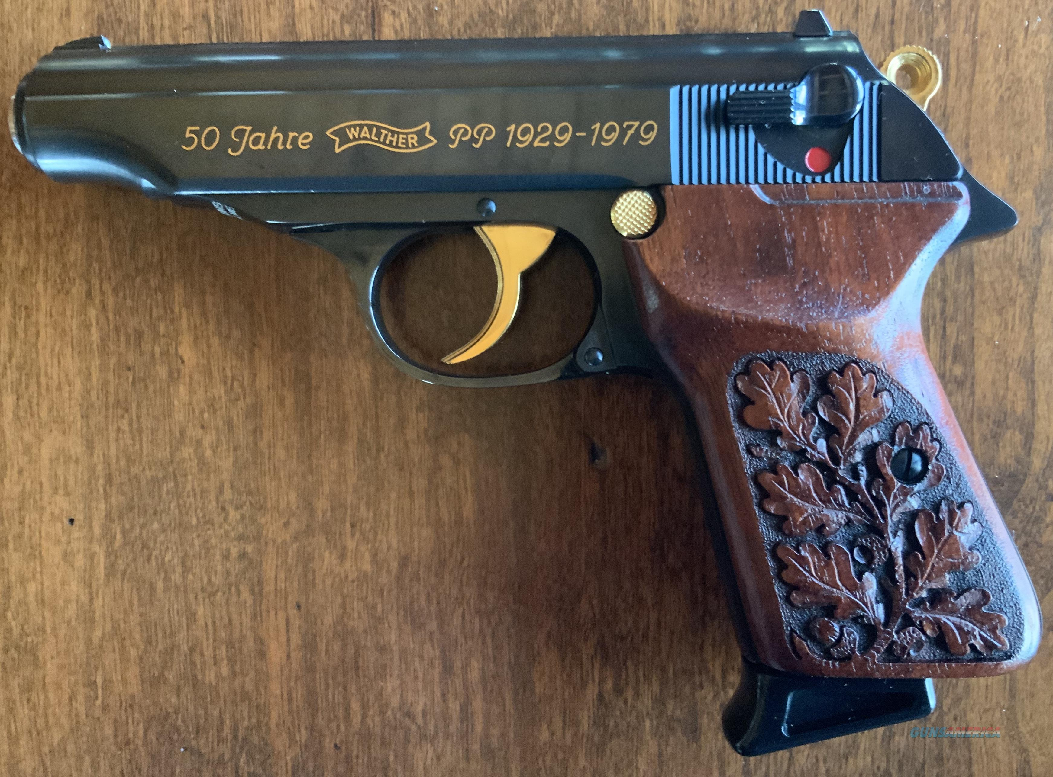 WTS Walther 50 Jahre Walther .380/9mm kurz  Guns > Pistols > Walther Pistols > Post WWII > PPK Series