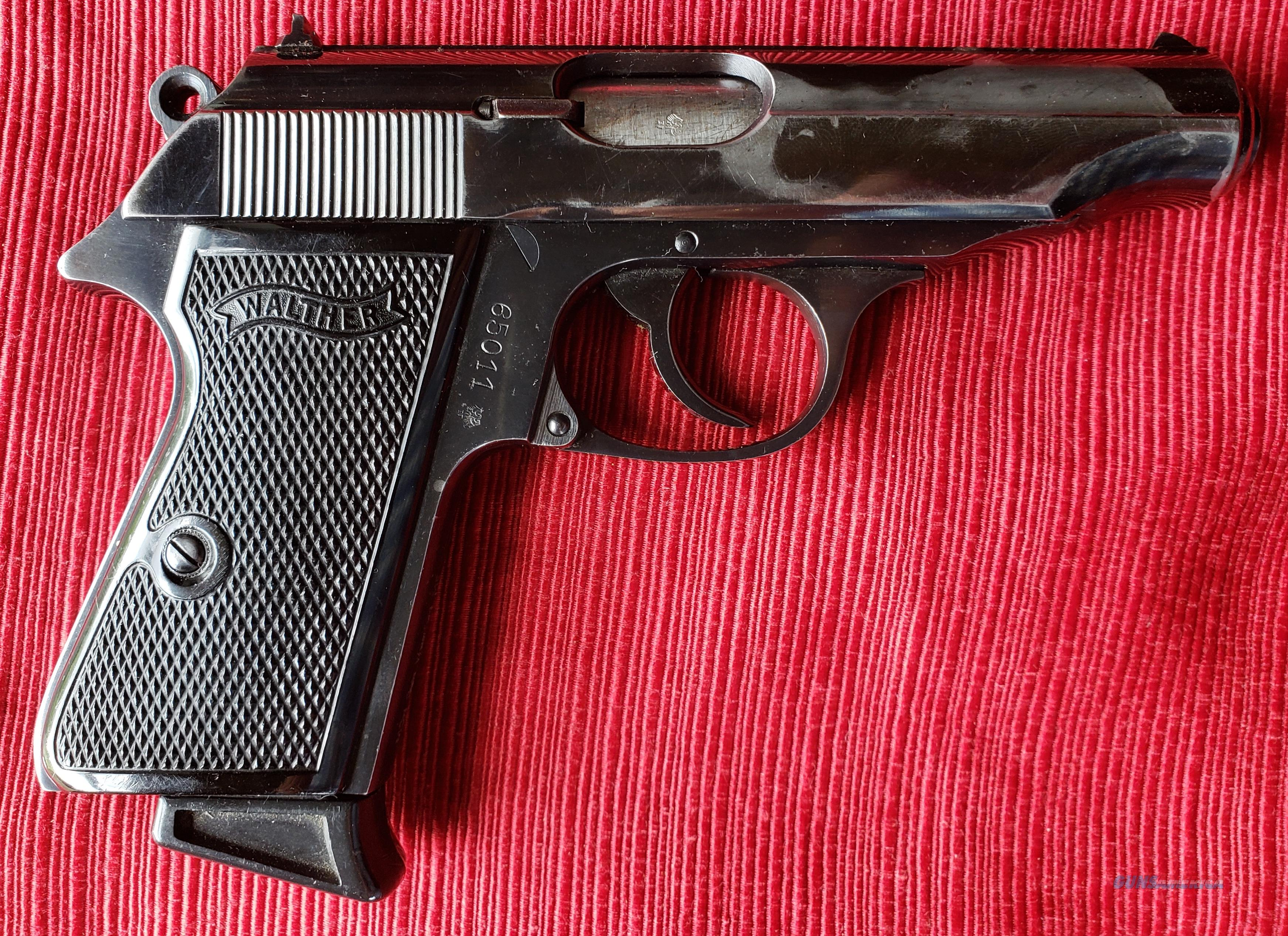 Walther PP 7.65  Guns > Pistols > Walther Pistols > Post WWII > PPK Series