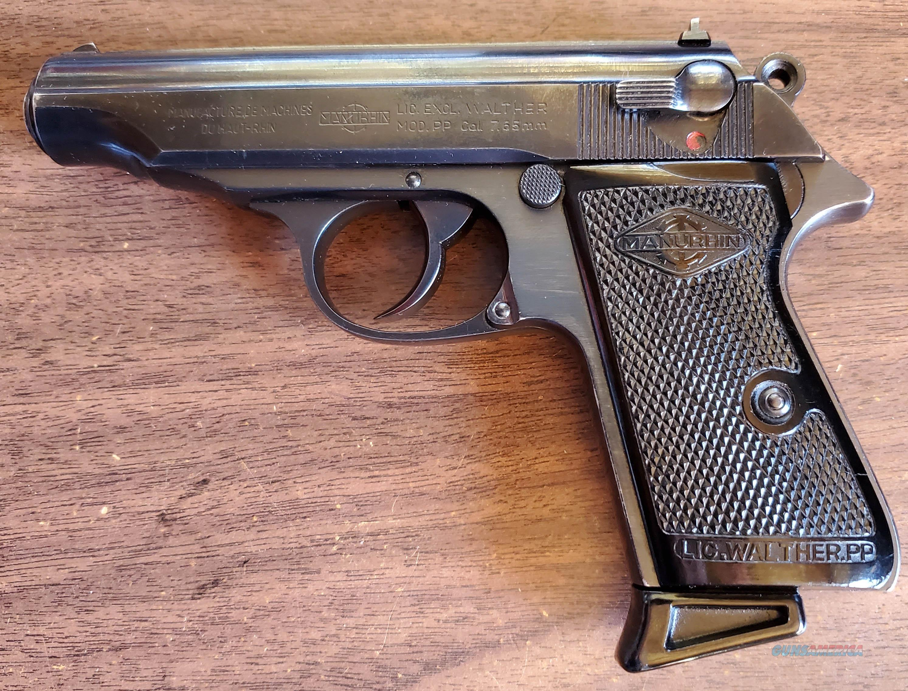 WTS Marurhin PP 7.65Br.  Guns > Pistols > Walther Pistols > Post WWII > PPK Series