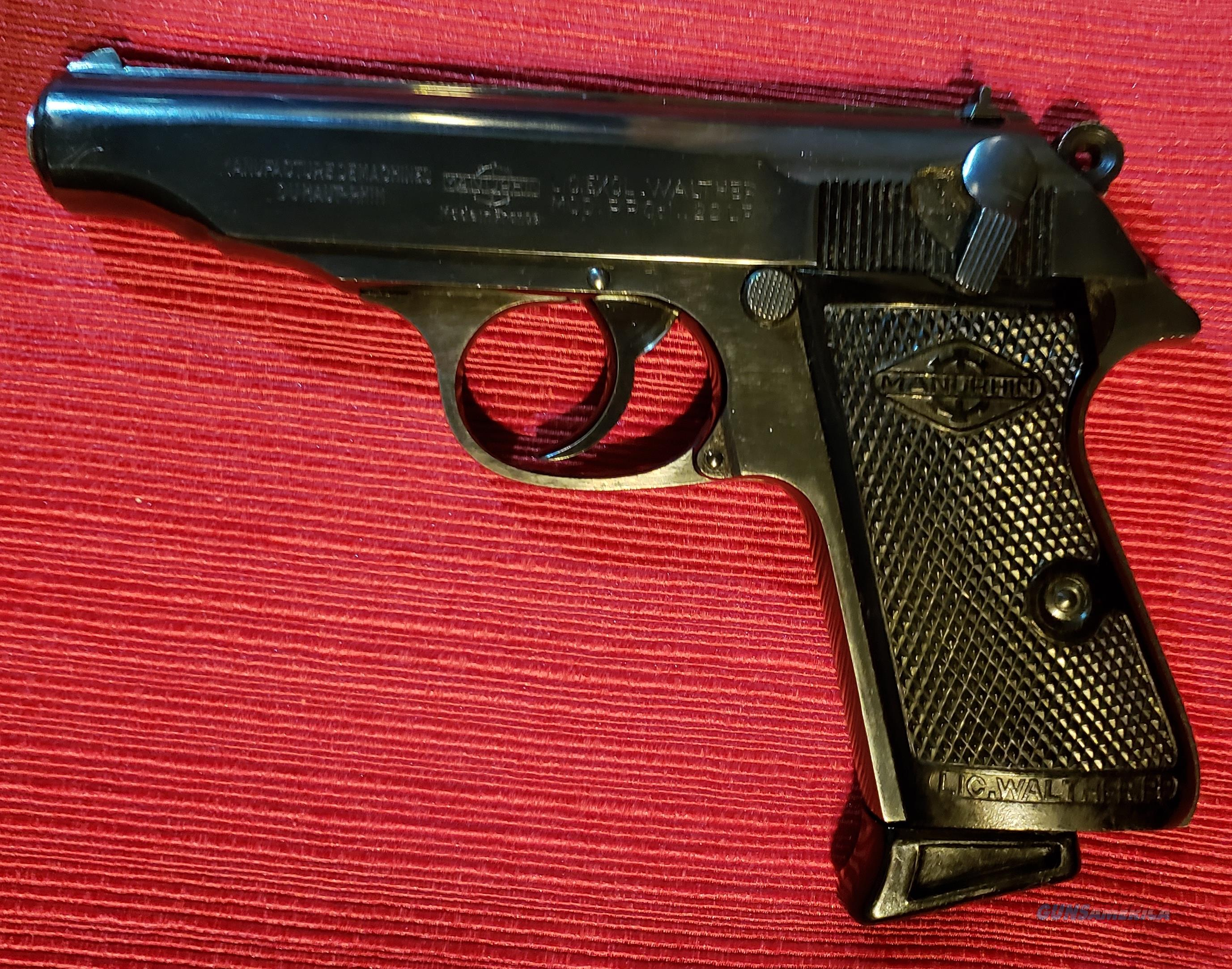 Walther / Manurhin PP .22LR  Guns > Pistols > Walther Pistols > Post WWII > PPK Series