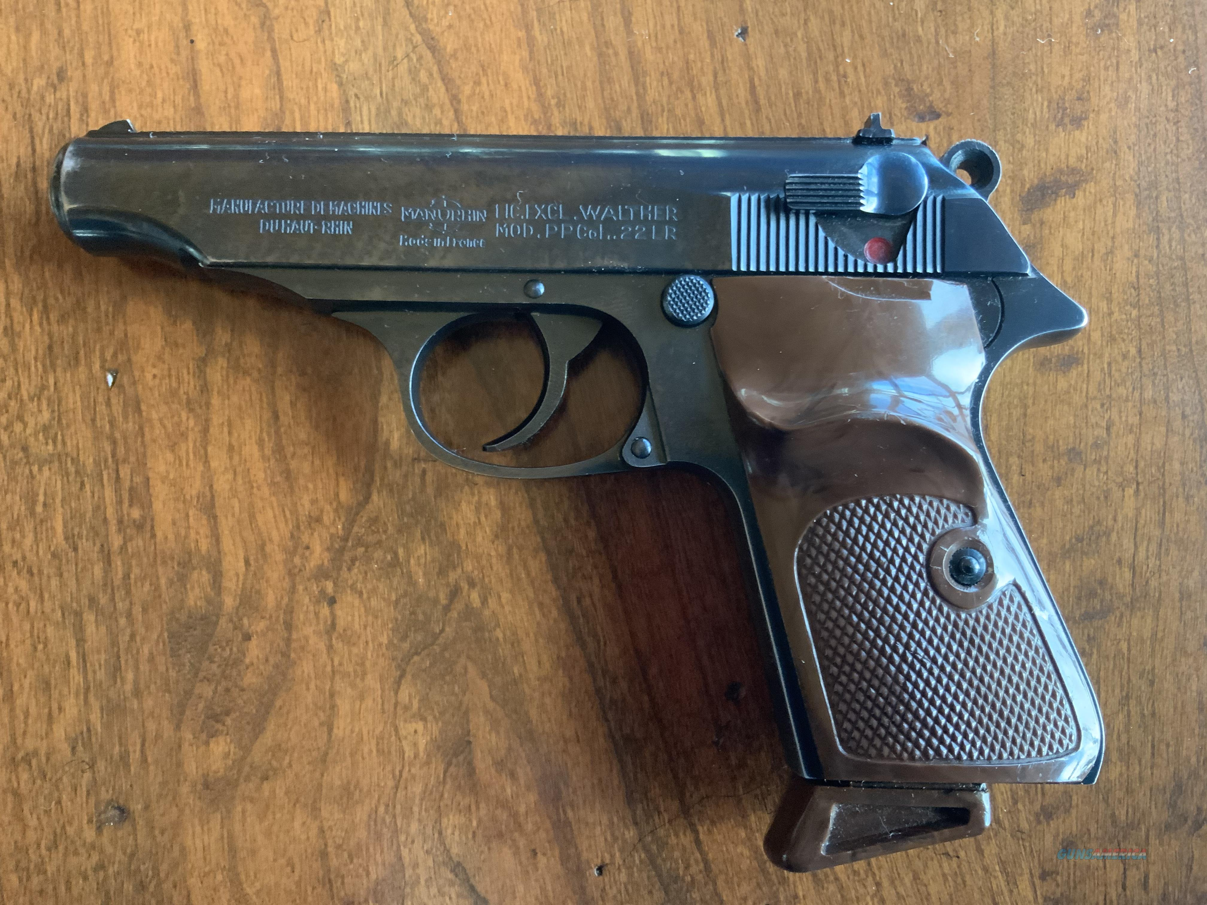 WTS Walther / Manurhin PP .22LR  Guns > Pistols > Walther Pistols > Post WWII > PPK Series