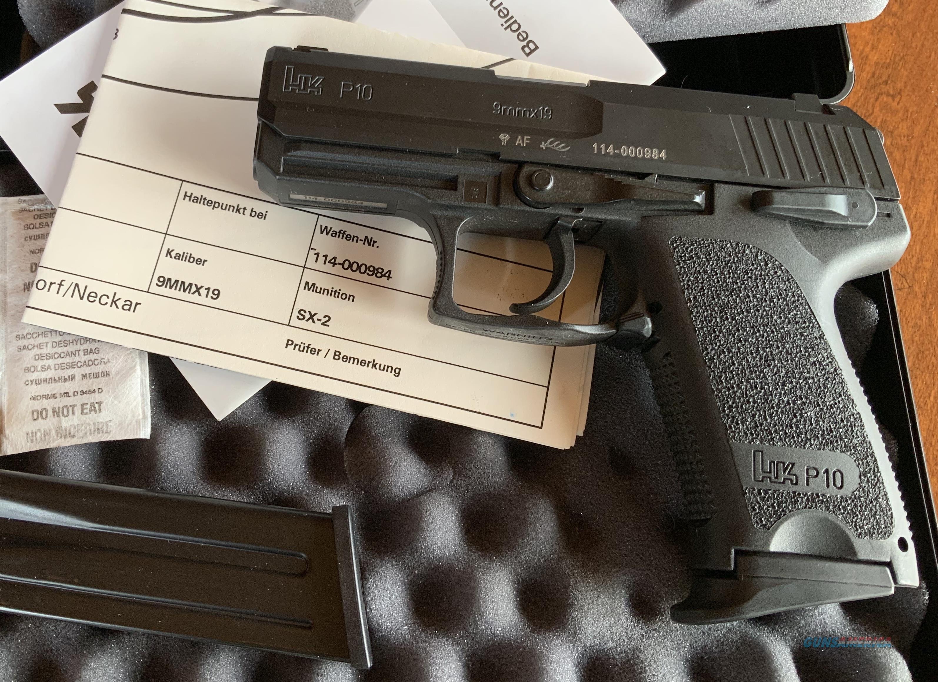 WTS HK P10   Guns > Pistols > Heckler & Koch Pistols > Polymer Frame