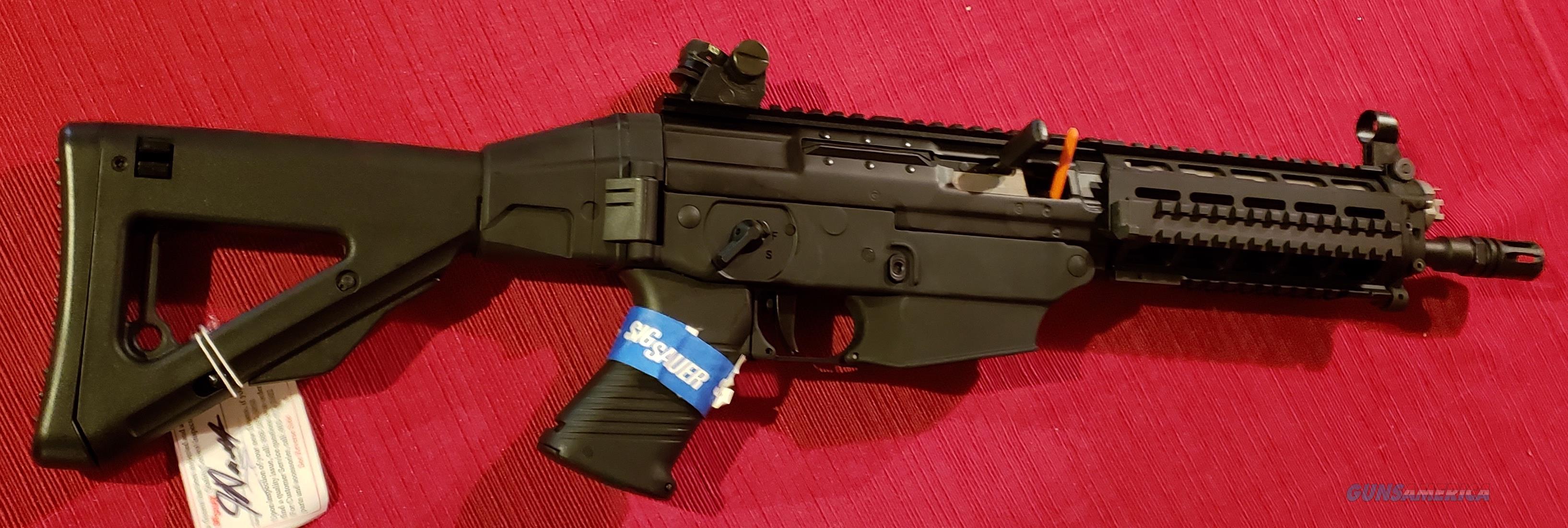 WTS Sig Sauer 556 SWAT SBR  Guns > Rifles > Sig - Sauer/Sigarms Rifles