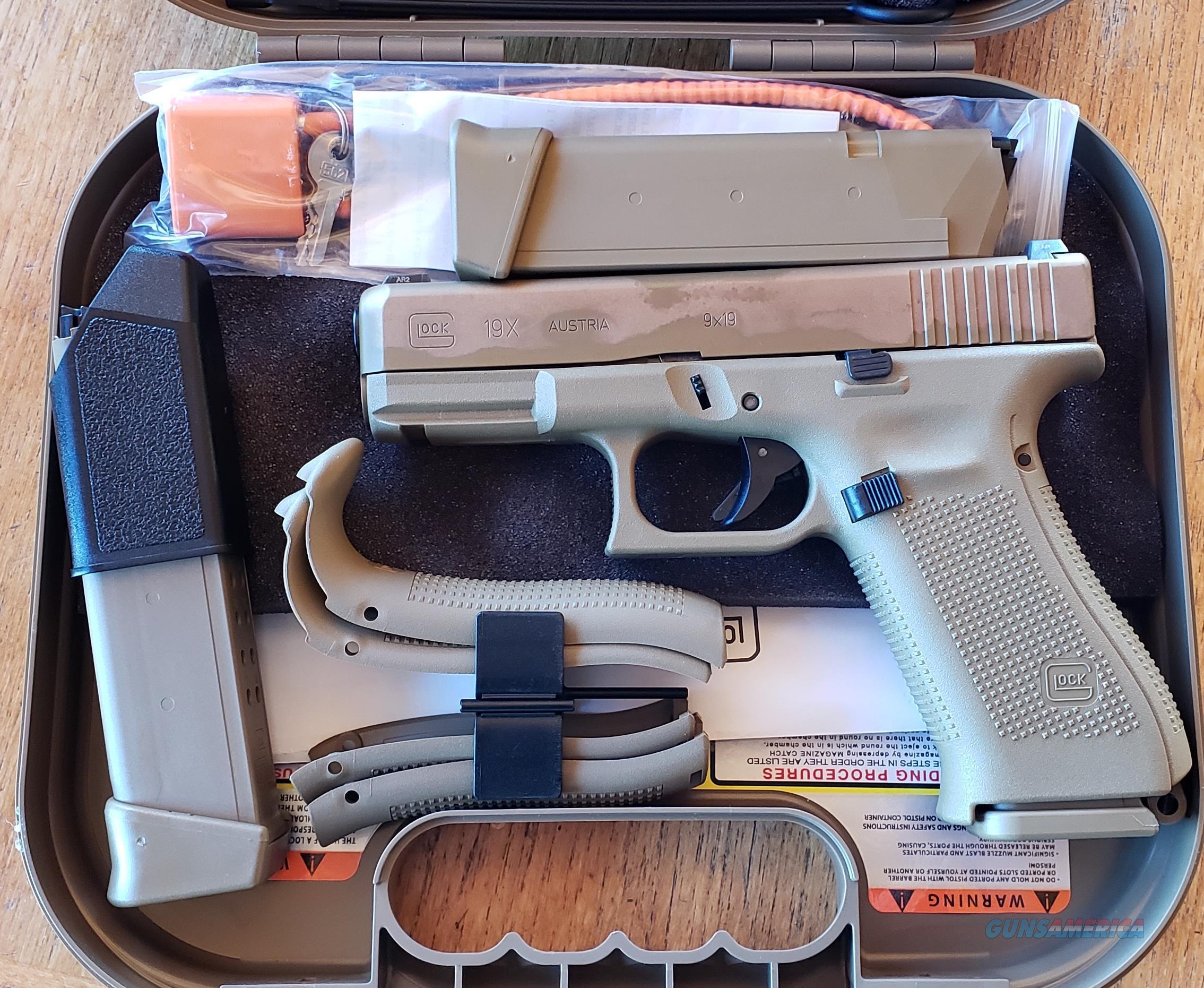 Glock 19X NIB  Guns > Pistols > Glock Pistols > 19/19X