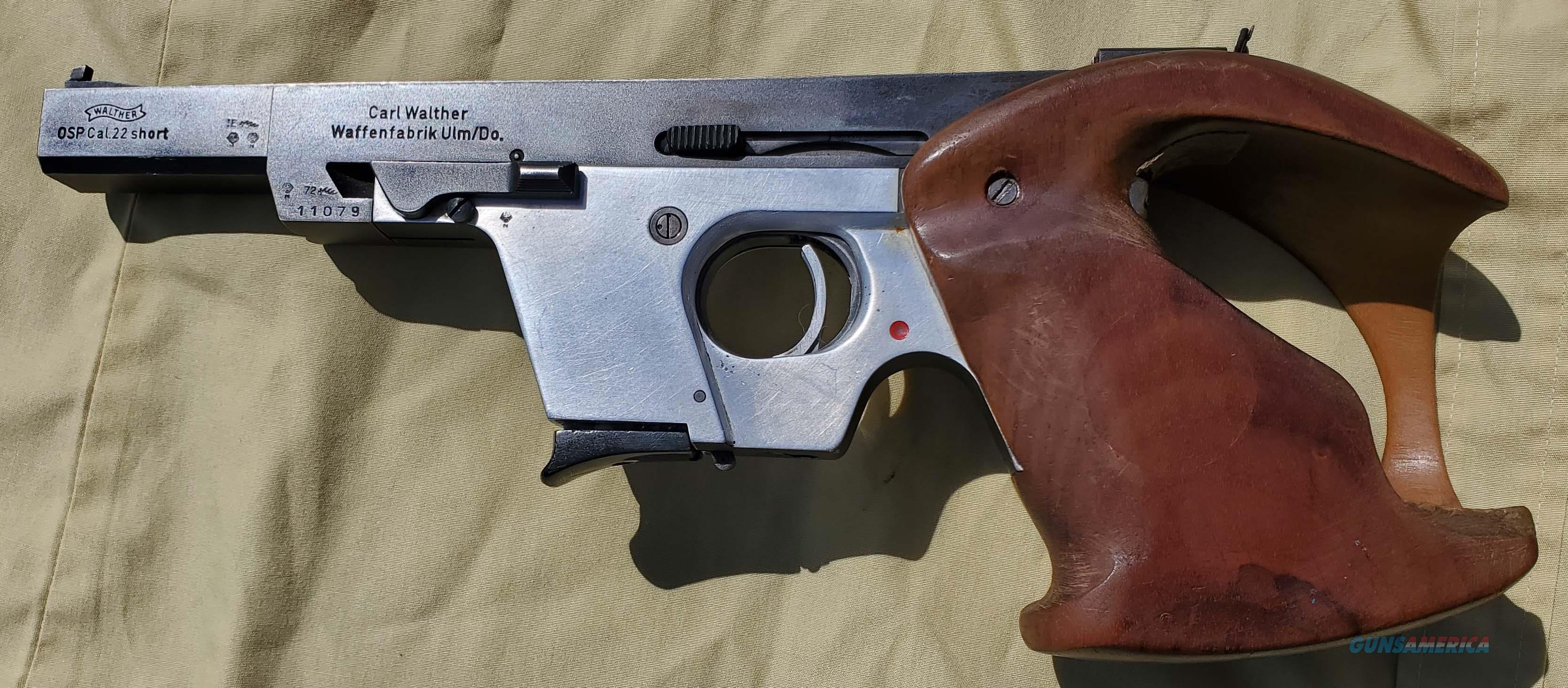WTS Walther OSP  Guns > Pistols > Walther Pistols > Post WWII > Target Pistols