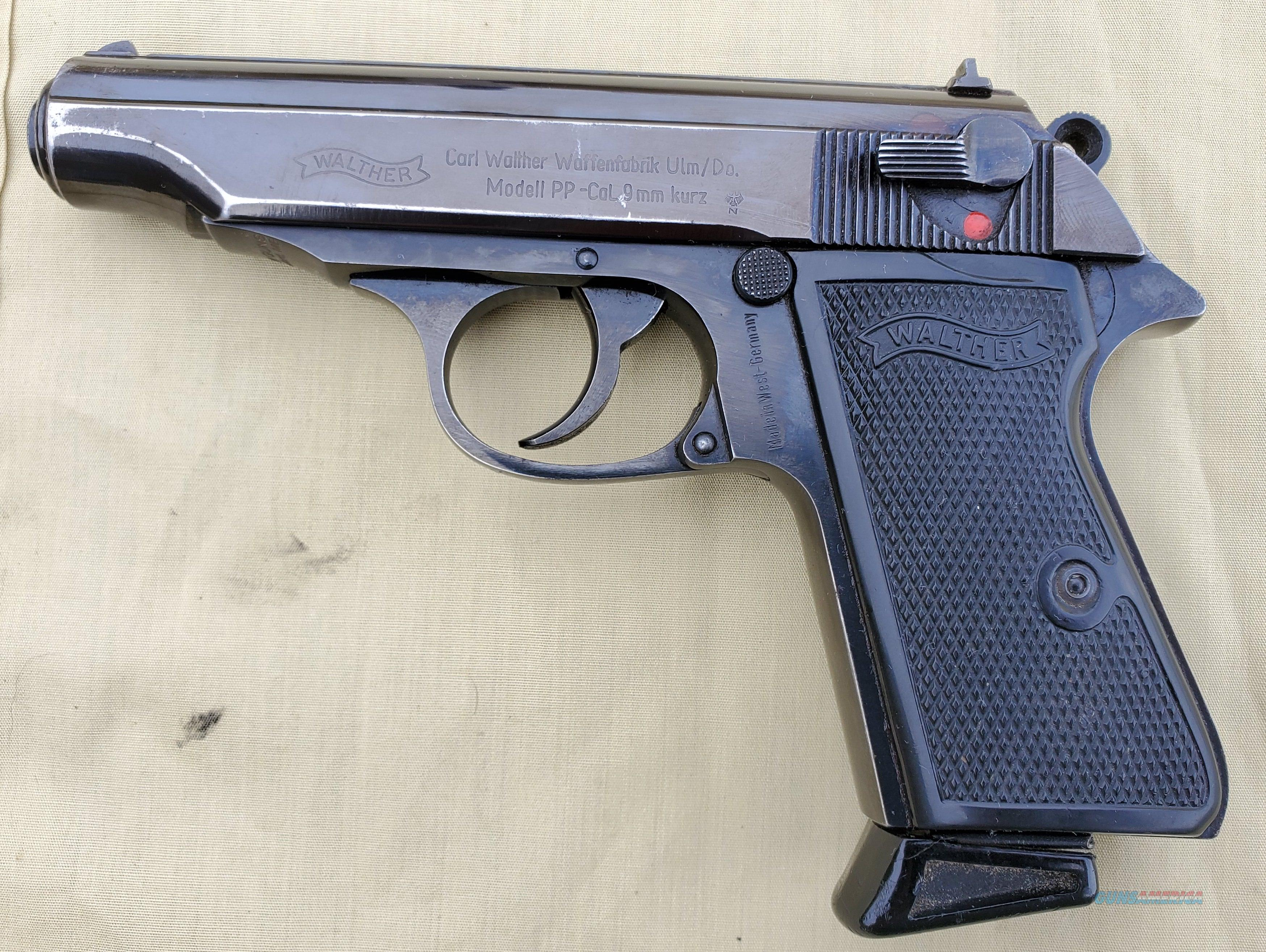 WTS Walther PP .380/9mmk  Guns > Pistols > Walther Pistols > Post WWII > PPK Series