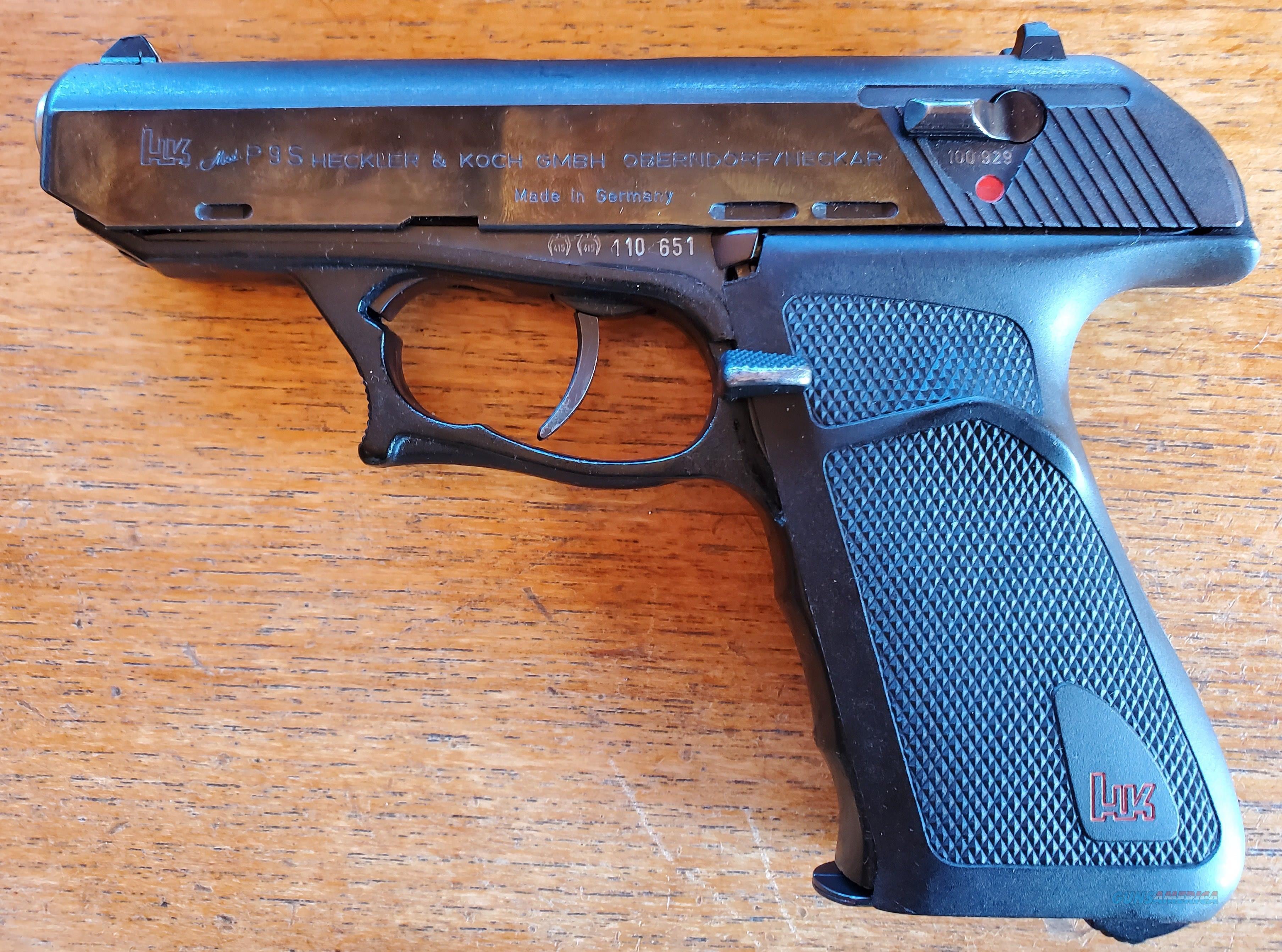 WTS HK P9S   Guns > Pistols > Heckler & Koch Pistols > SteelFrame