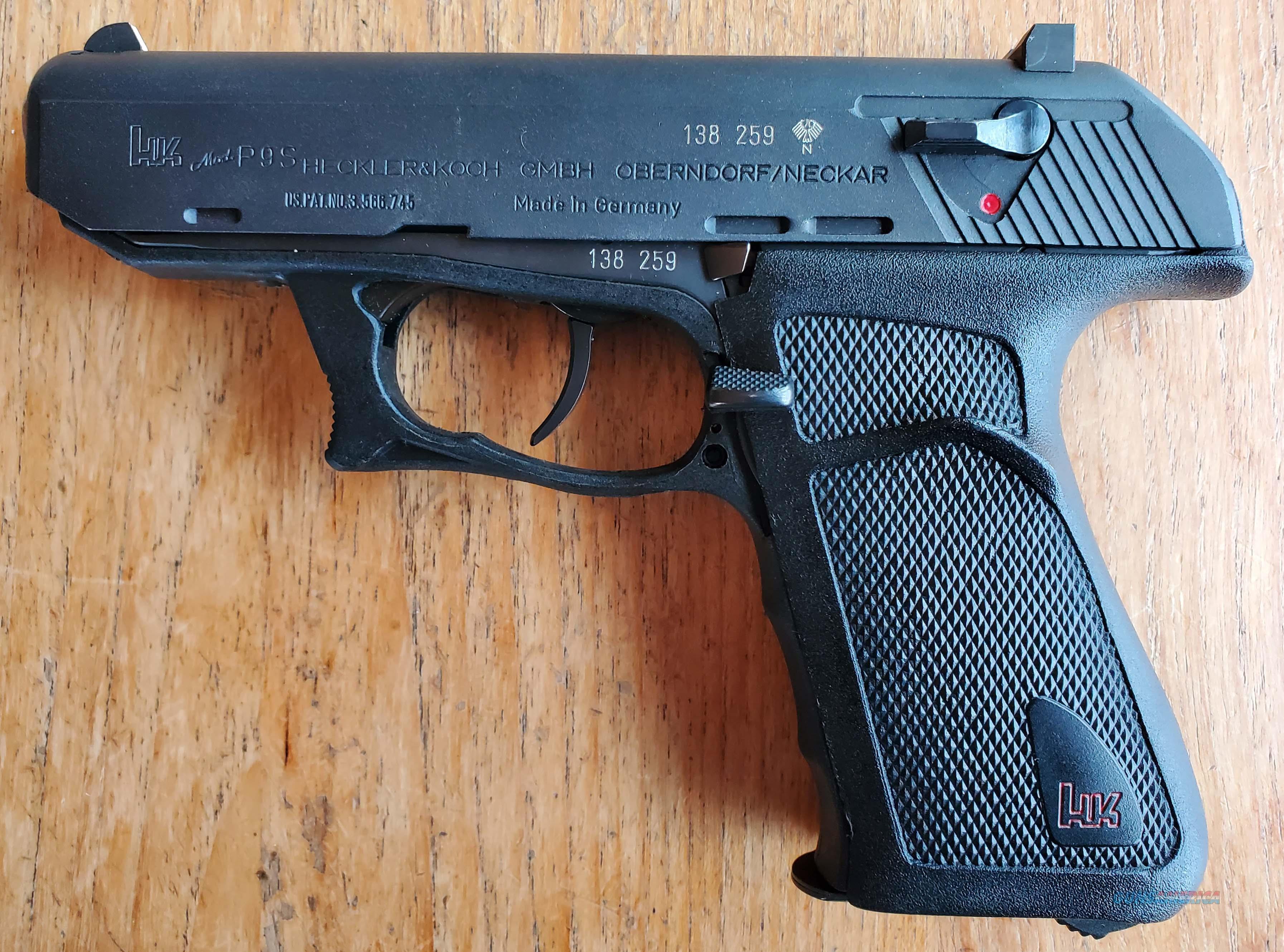 WTS P9S 9mm  Guns > Pistols > Heckler & Koch Pistols > SteelFrame