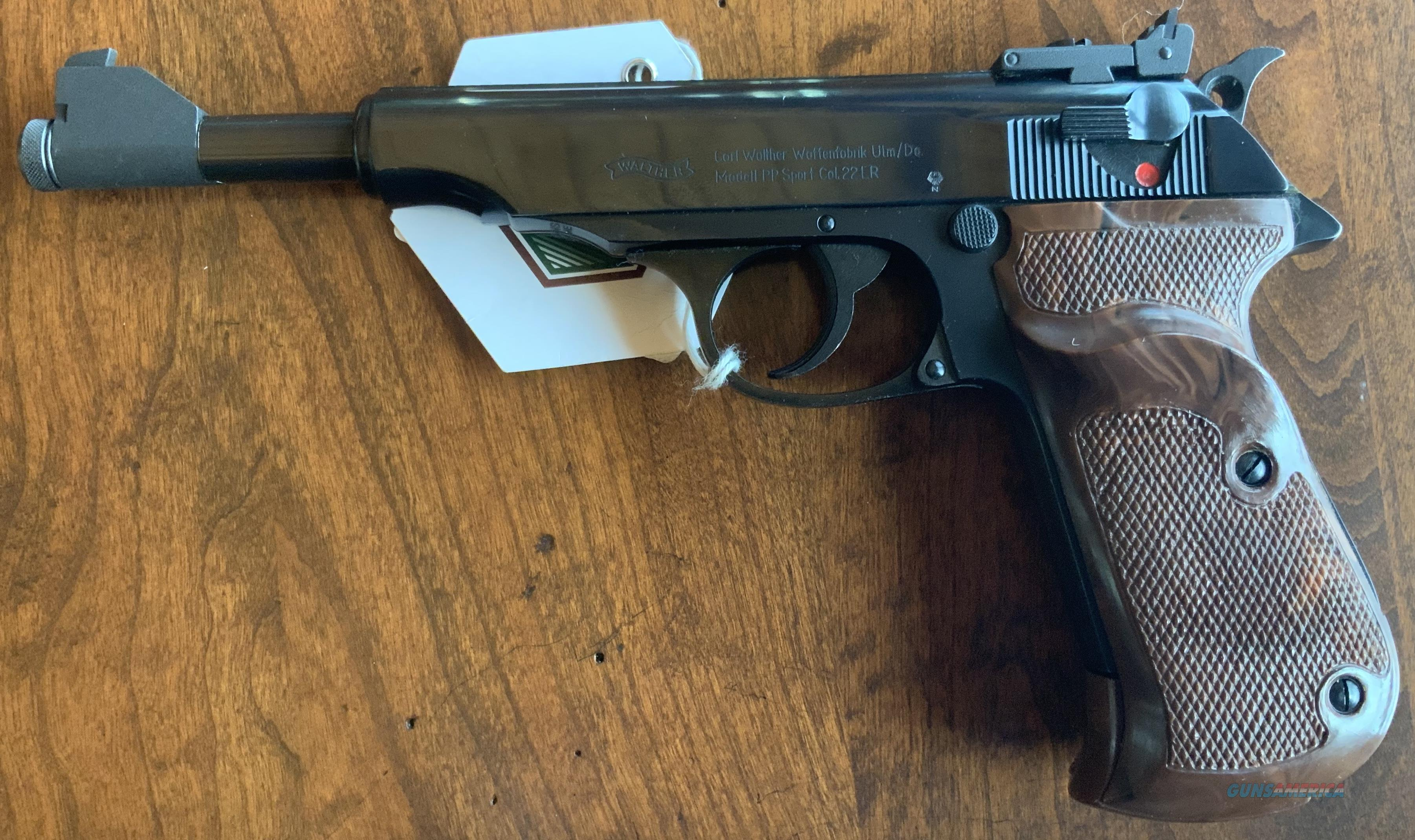 WTS Walther PP Sport .22LR  Guns > Pistols > Walther Pistols > Post WWII > PPK Series