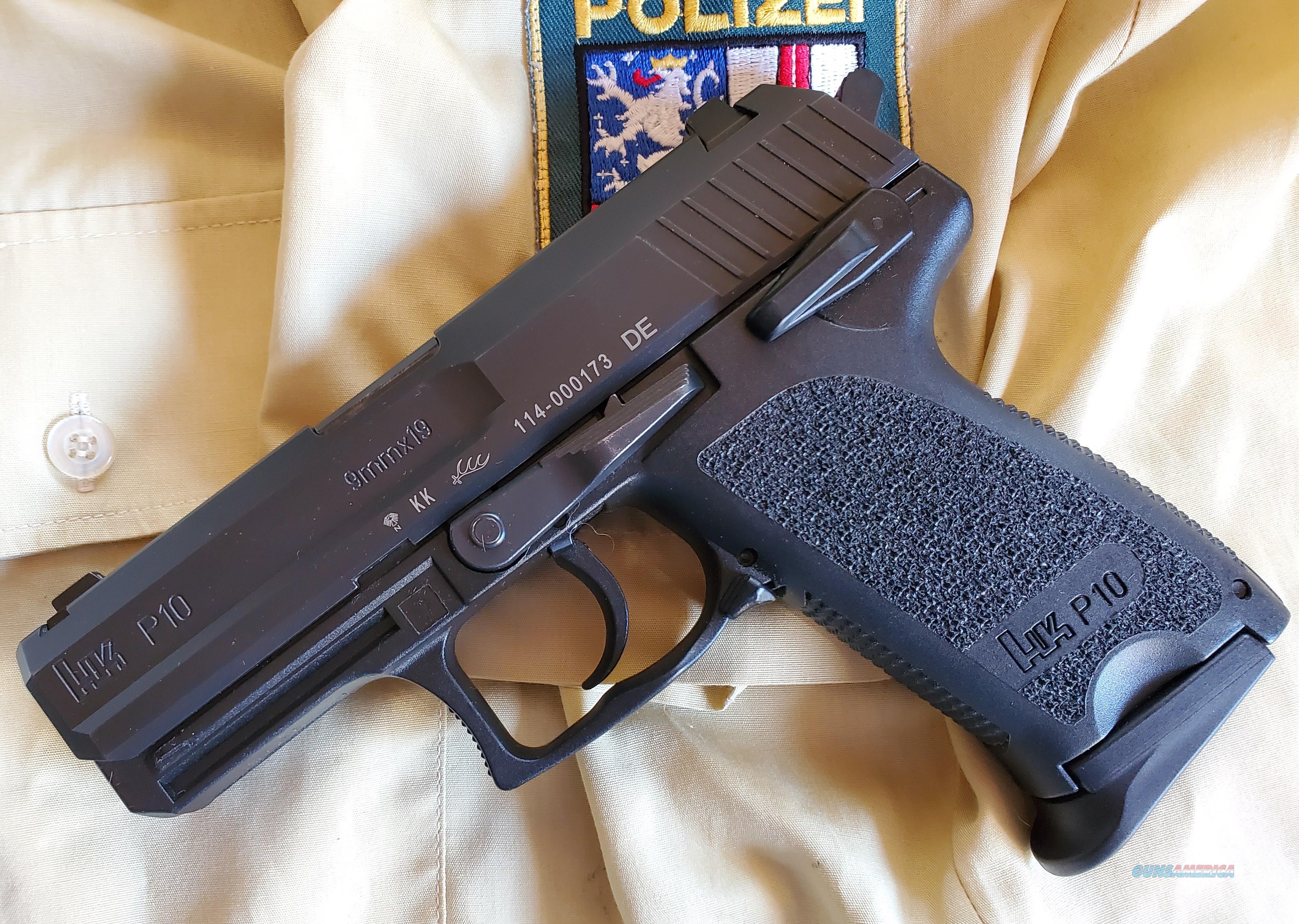 HK P10 Polizei Pistol  Guns > Pistols > Heckler & Koch Pistols > Polymer Frame