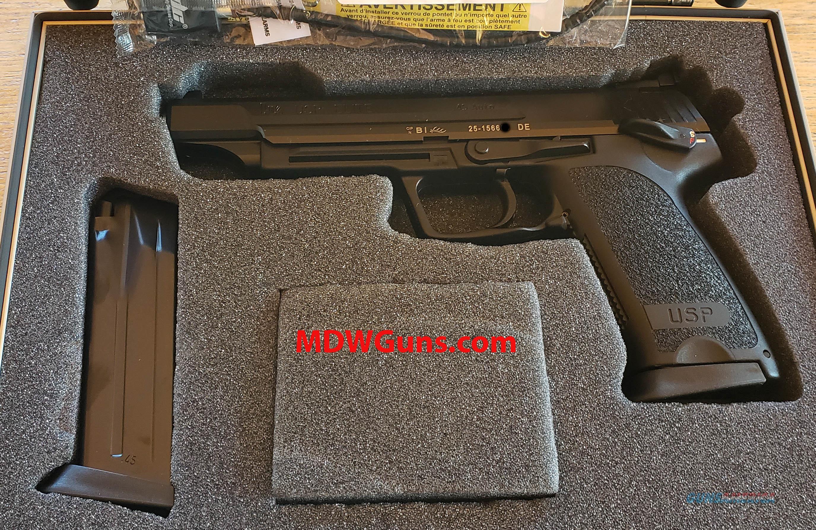 HK USP ELITE .45ACP  Guns > Pistols > Heckler & Koch Pistols > Polymer Frame