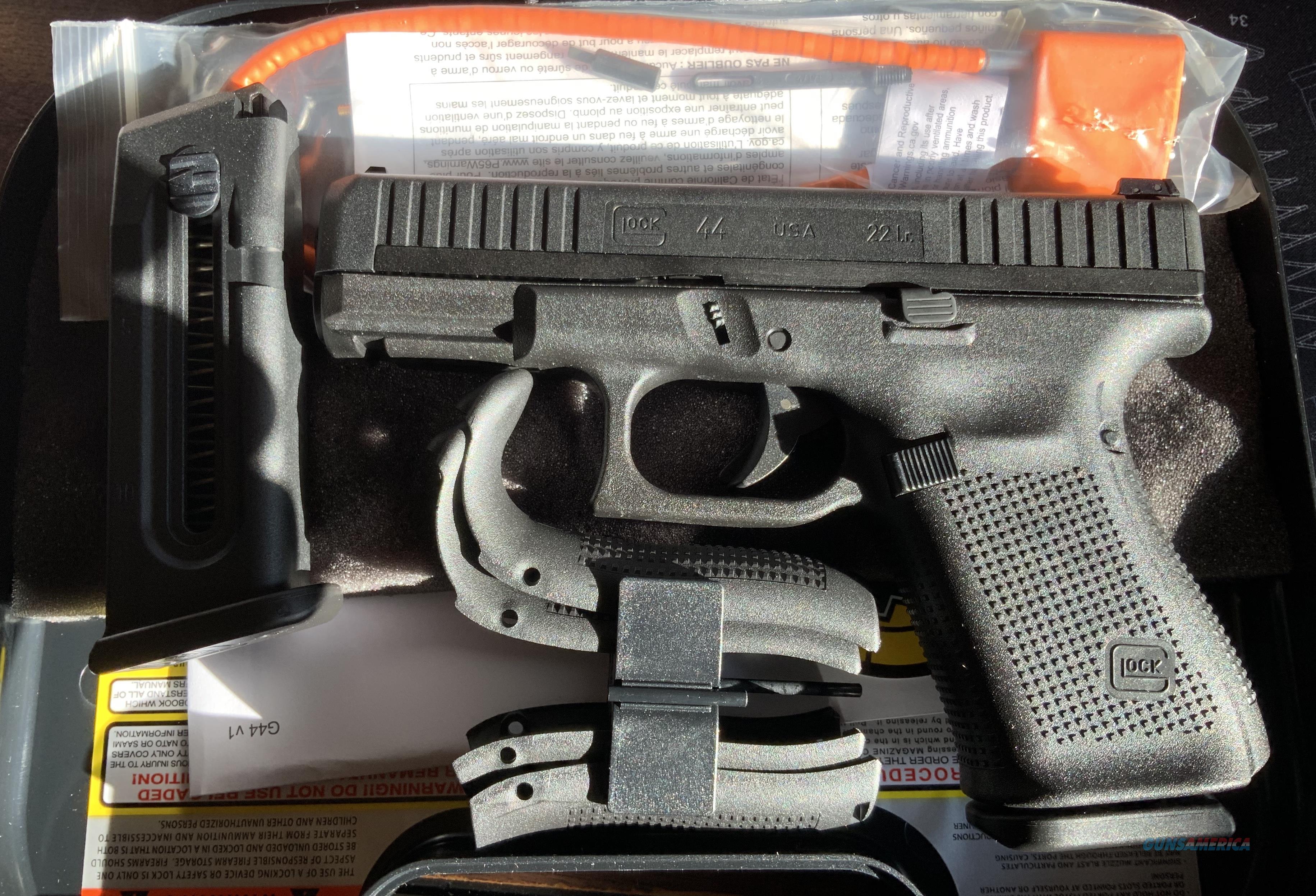 WTS Glock 44 .22LR  Guns > Pistols > Glock Pistols > 44