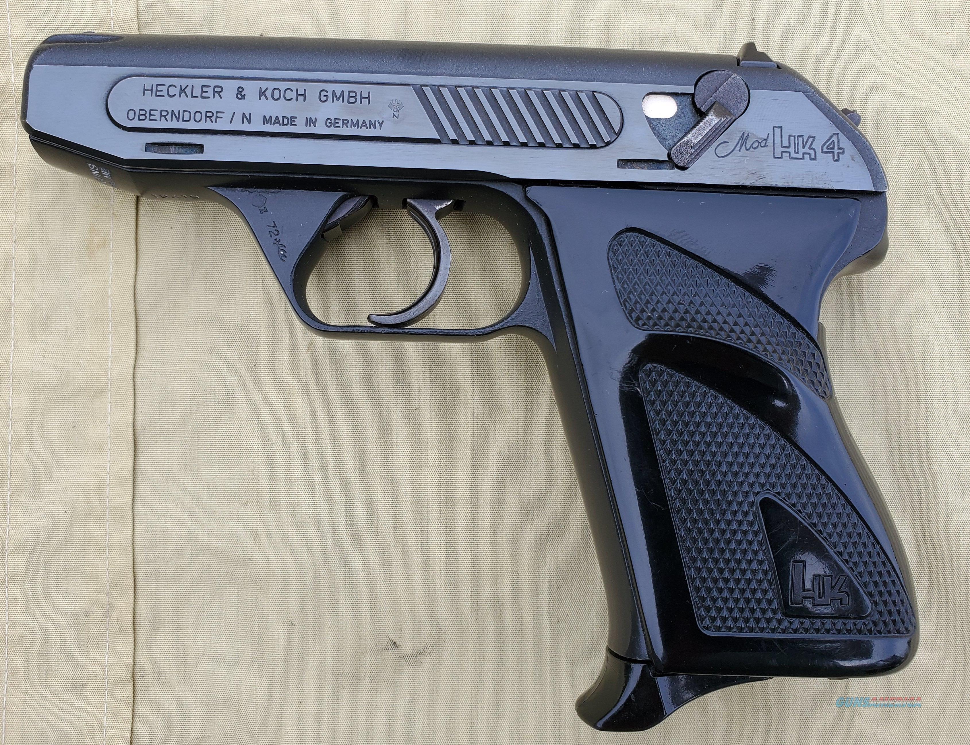 WTS HK HK4 7.65   Guns > Pistols > Heckler & Koch Pistols > SteelFrame