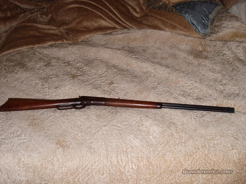 Winchester 1892 Made 1908 octagon barrel, nice patina .25-20  Guns > Rifles > Winchester Rifles - Modern Lever > Other Lever > Pre-64