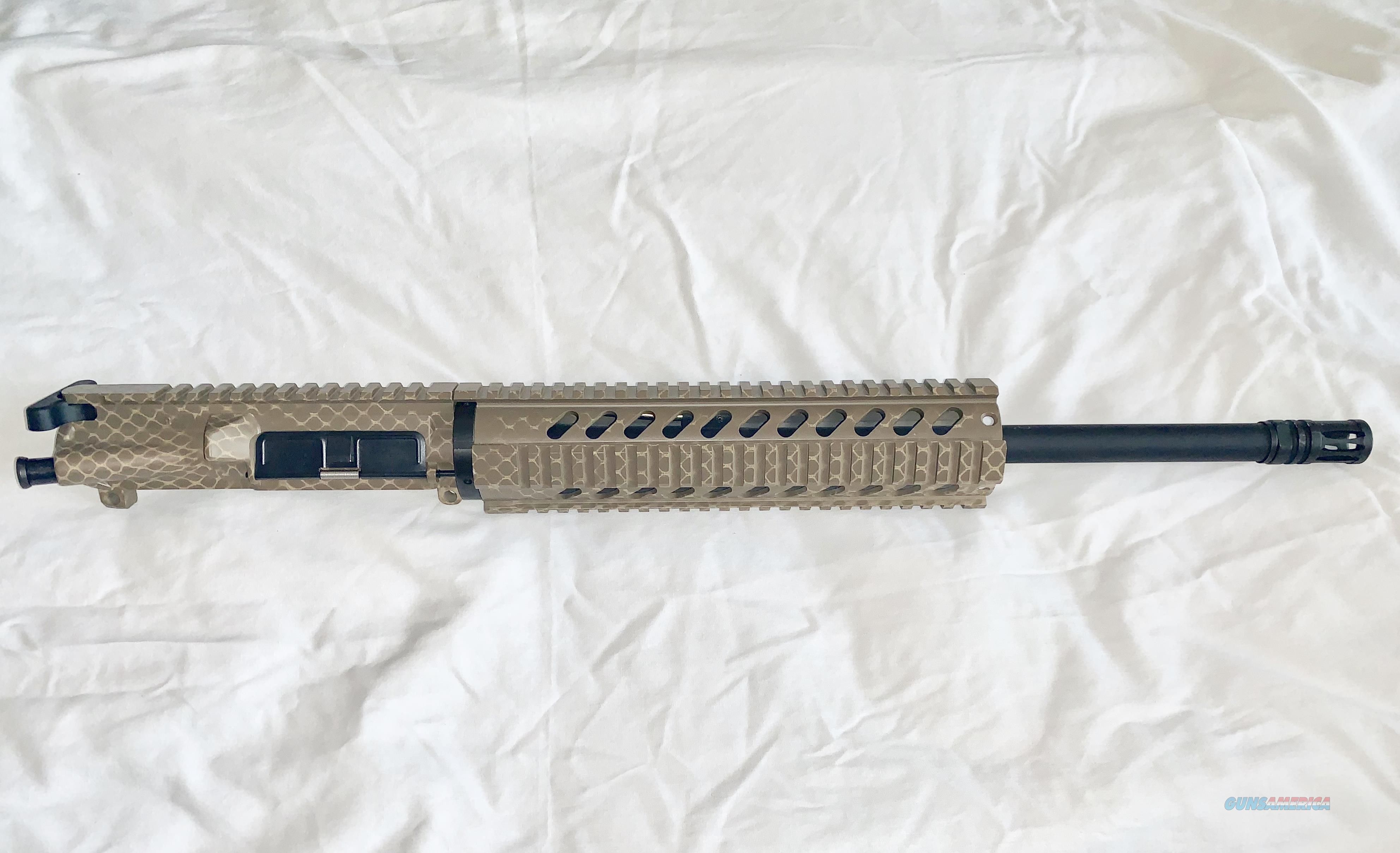 New Revolution Weaponry AR15 Upper- Custom Snake Skin Camo Cerakote- 300 AAC Blackout Barrel- UPK Installed- No BCG  Non-Guns > Gun Parts > M16-AR15 > Upper Only
