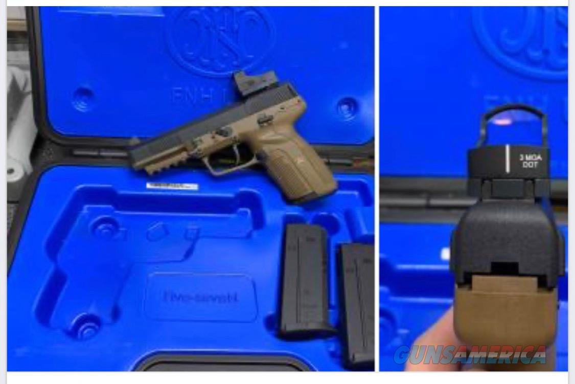 FN 5.7 with 3 mags and Burris fast fire 3  Guns > Pistols > FNH - Fabrique Nationale (FN) Pistols > FiveSeven
