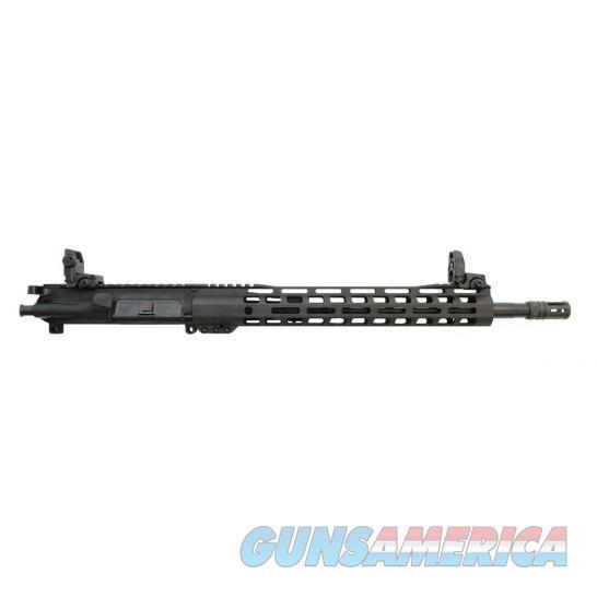 """PSA 16"""" PISTOL-LENGTH 300AAC BLACKOUT 1/8 NITRIDE13.5"""" LIGHTWEIGHT M-LOK UPPER - WITH BCG, CH, & MBUS SIGHT SET - 5165448559  Non-Guns > Gun Parts > M16-AR15 > Upper Only"""