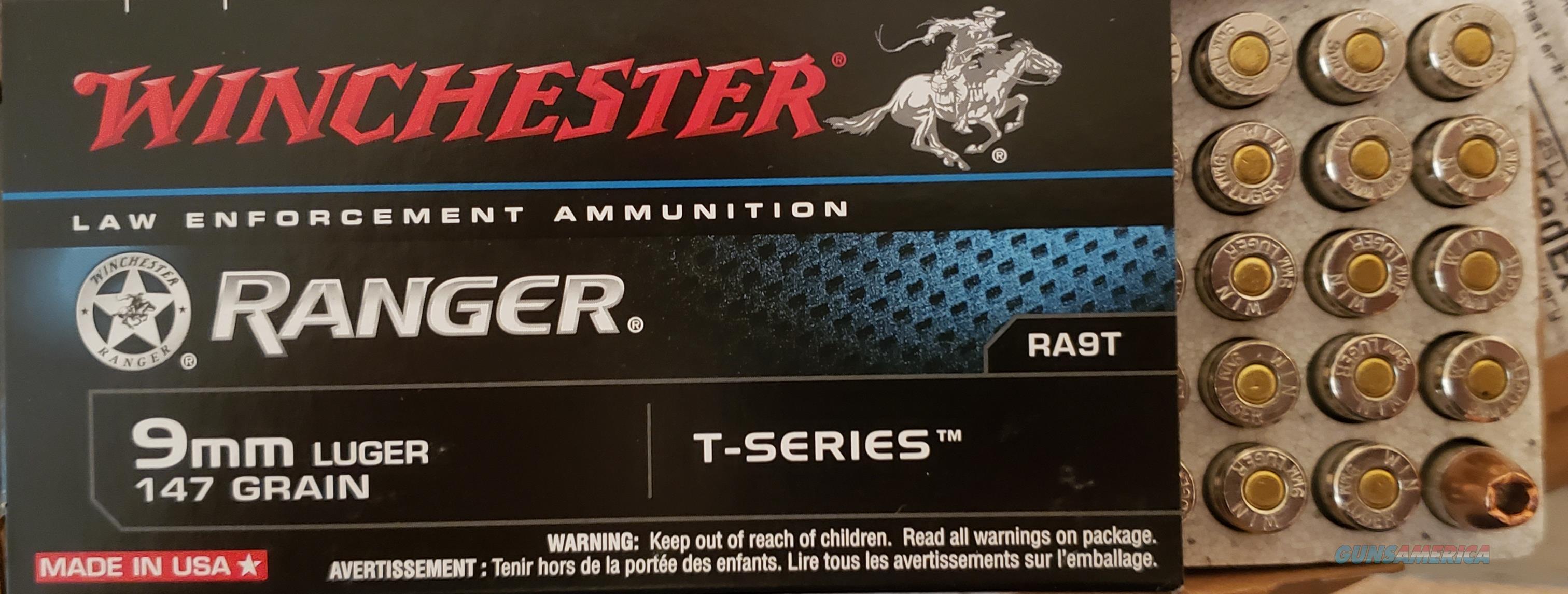 Winchester Ranger T 9mm  Non-Guns > Ammunition
