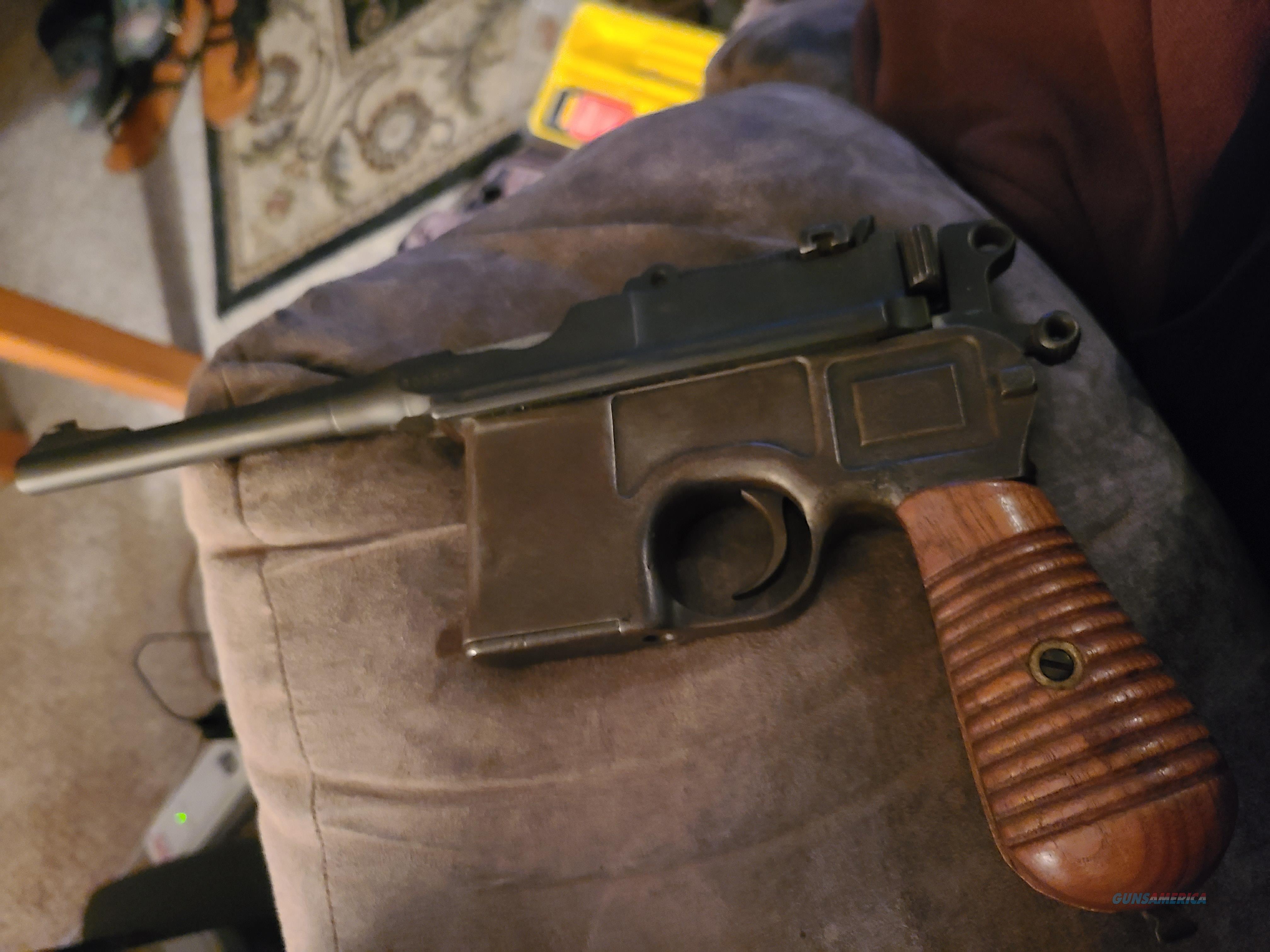 Ww2 mauser  Guns > Pistols > Mauser Pistols