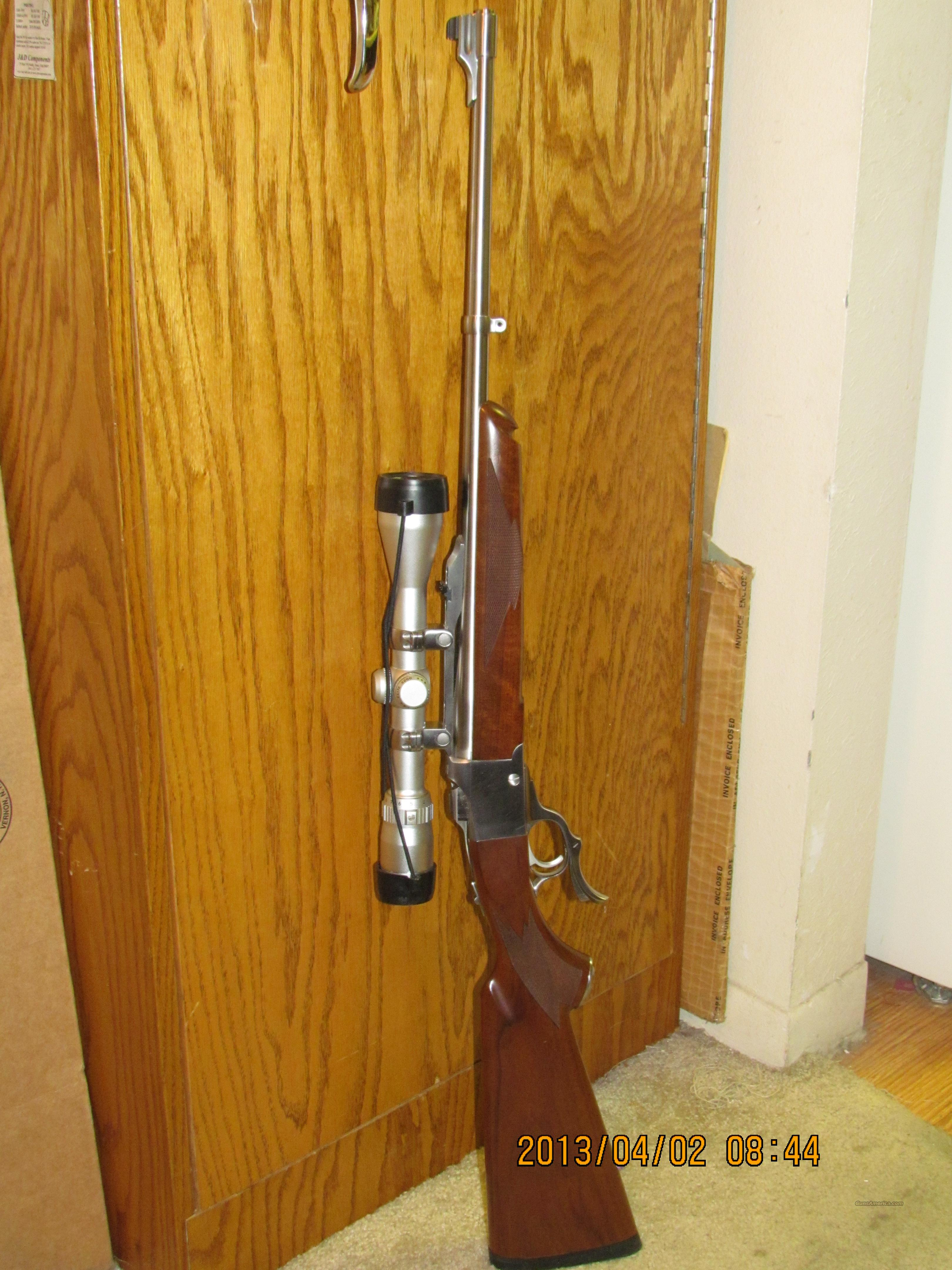 Ruger No. 1 Stainless 7.62x39  Guns > Rifles > Ruger Rifles > #1 Type
