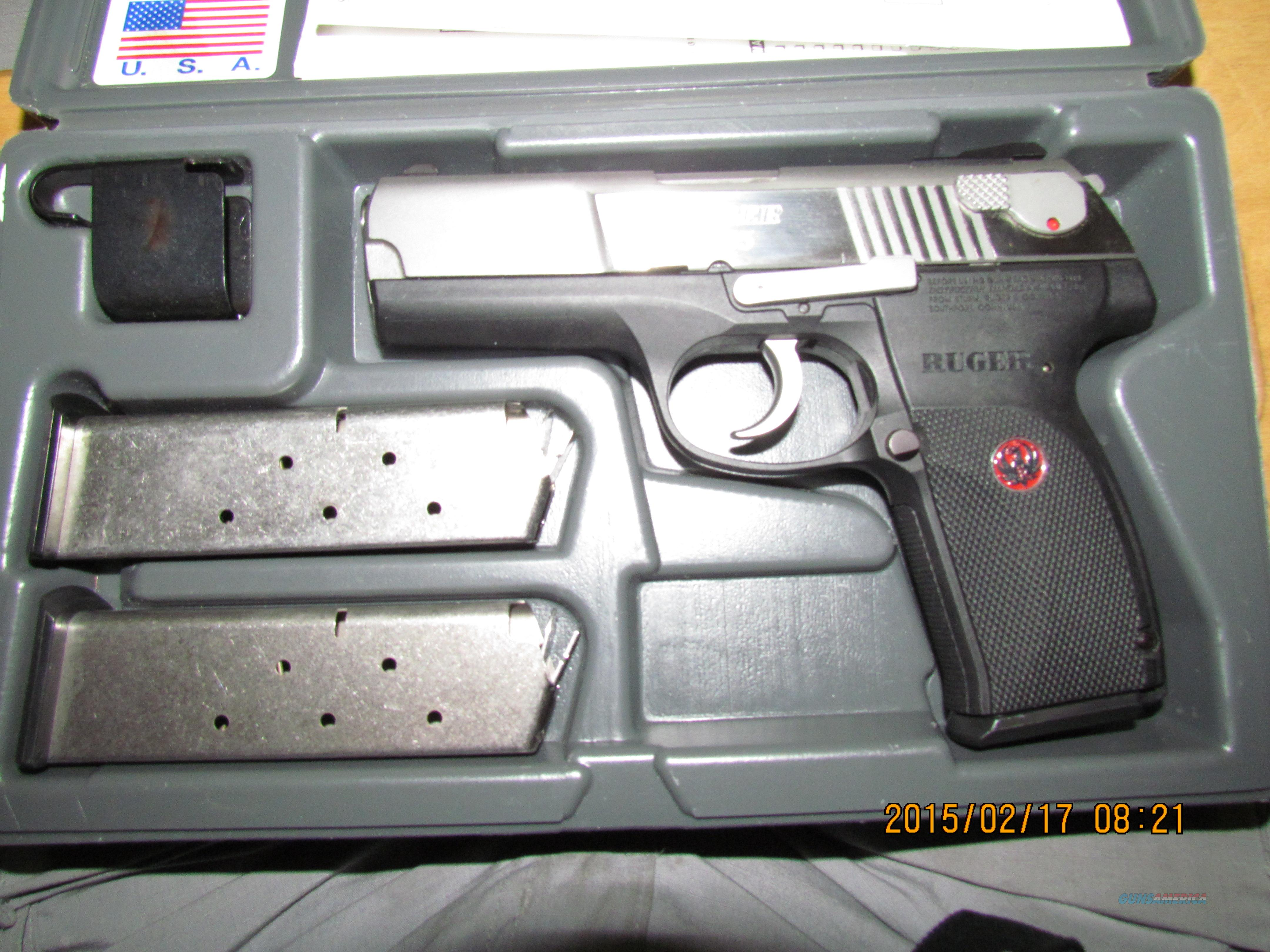 Ruger P 345 Stainless w/Case, Manual and Paperwork   Guns > Pistols > Ruger Semi-Auto Pistols > P-Series