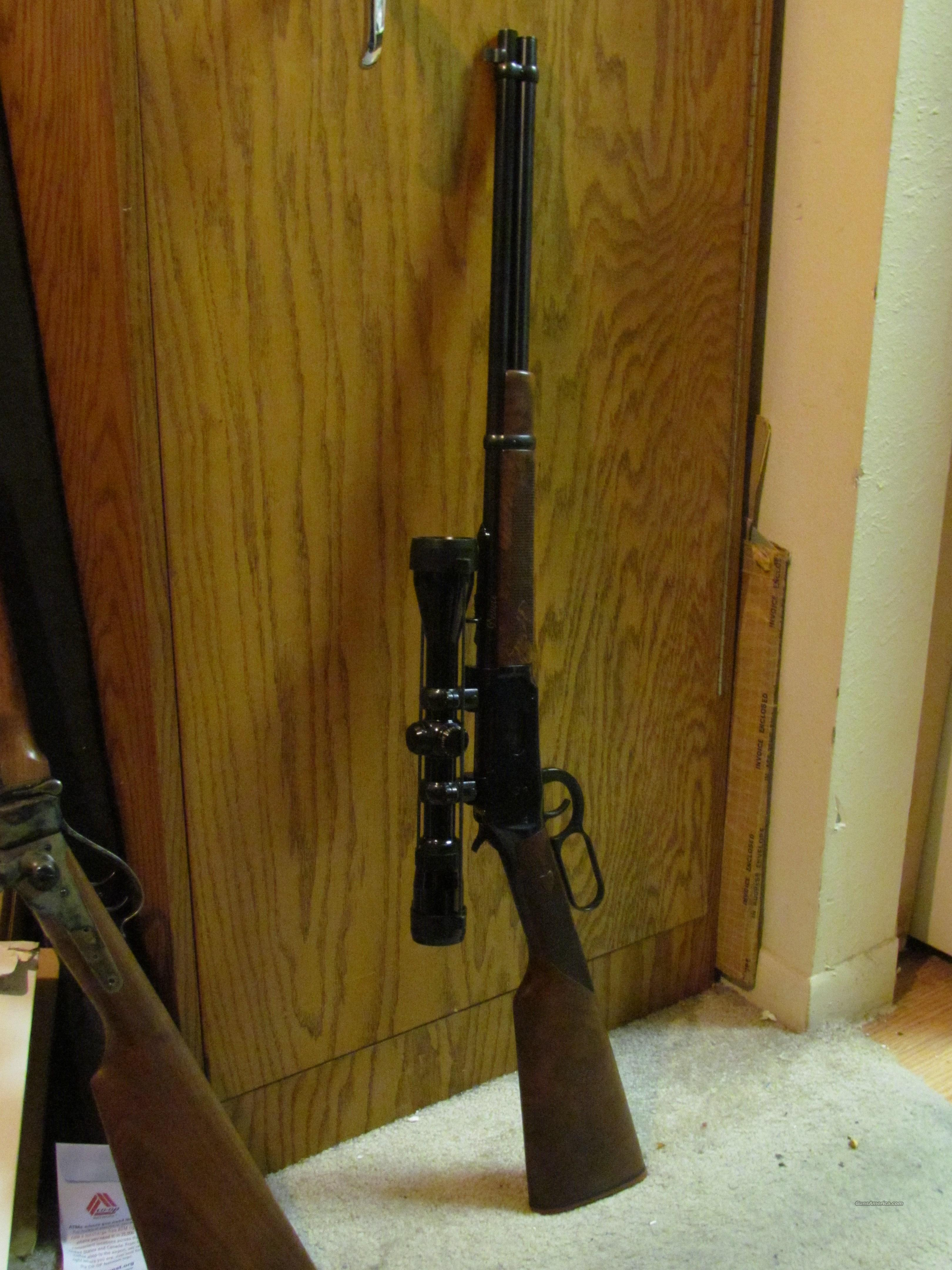 Winchester 94AE Delux w/scope and rings  Guns > Rifles > Winchester Rifles - Modern Lever > Model 94 > Post-64
