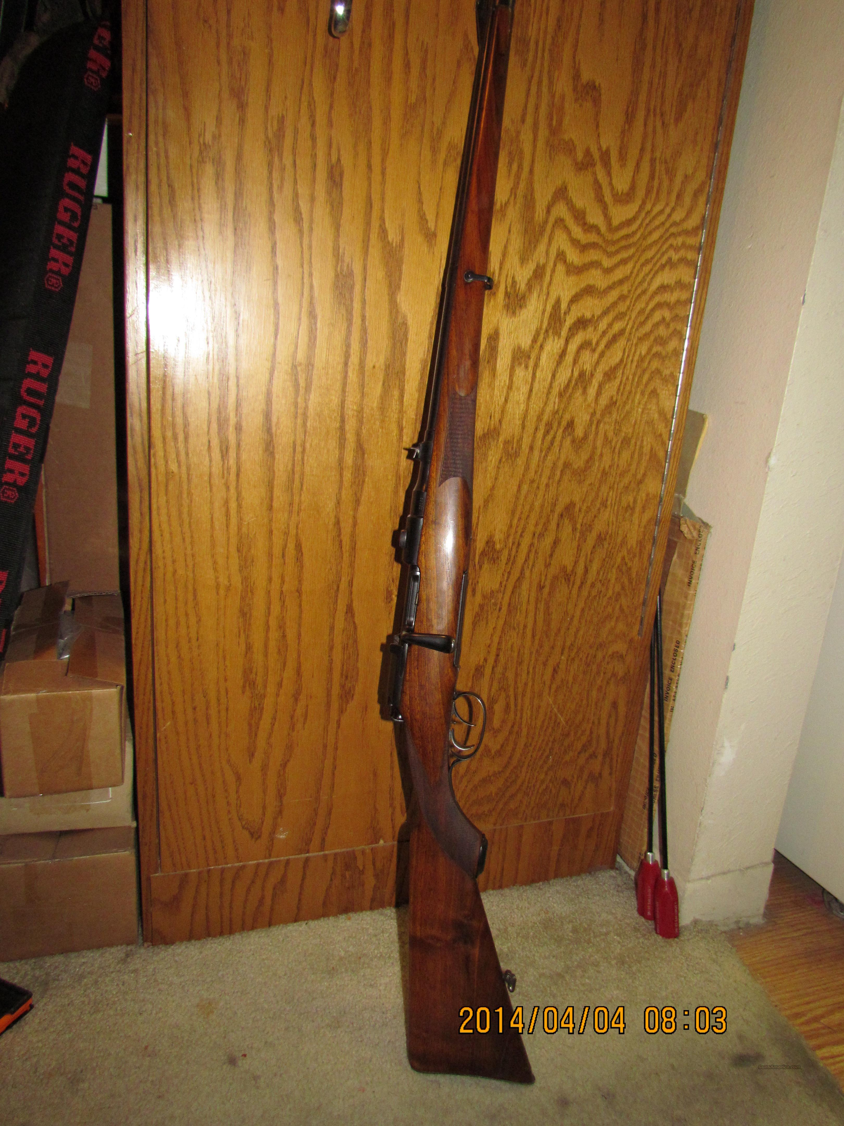 Steyr 1908 Full Stock Mannlicher 8x56MS w/double set trigger  Guns > Rifles > Steyr Rifles