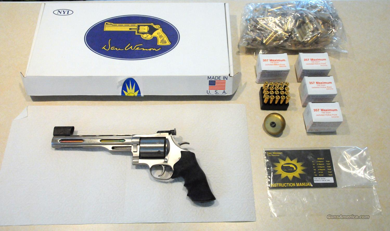 Dan Wesson Super Magnums in .357Max, .414SM & .445SM  Guns > Pistols > Dan Wesson Pistols/Revolvers > Revolvers