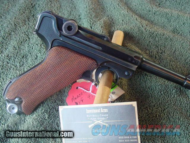 Mauser Code byf,41 Luger-matching,correct fxo mag  Guns > Pistols > Luger Pistols