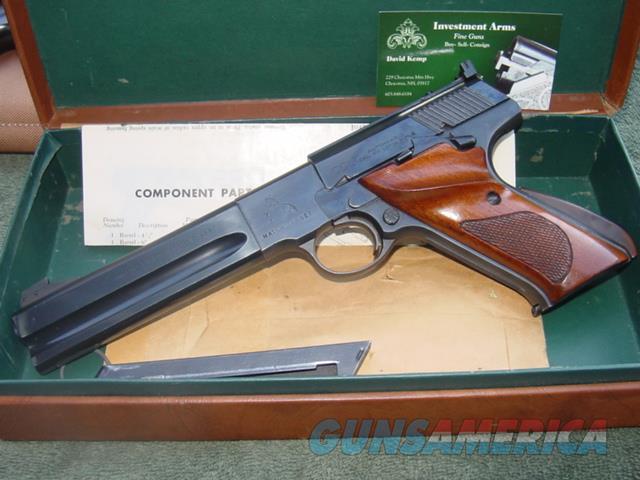 Colt Woodsman Match Target-in box  Guns > Pistols > Colt Automatic Pistols (22 Cal.)