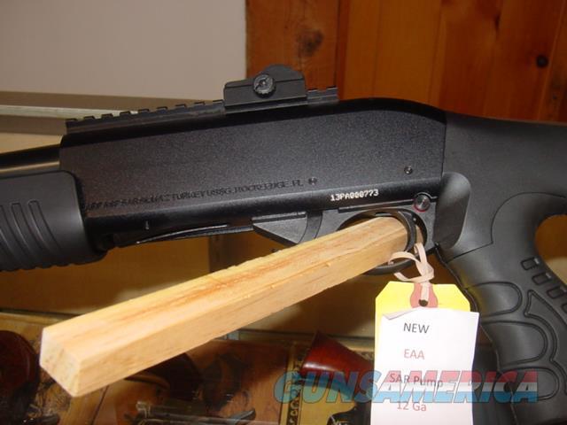 """EAA SAR Pump , 12 Ga 18.5""""  Guns > Shotguns > EAA Shotguns"""