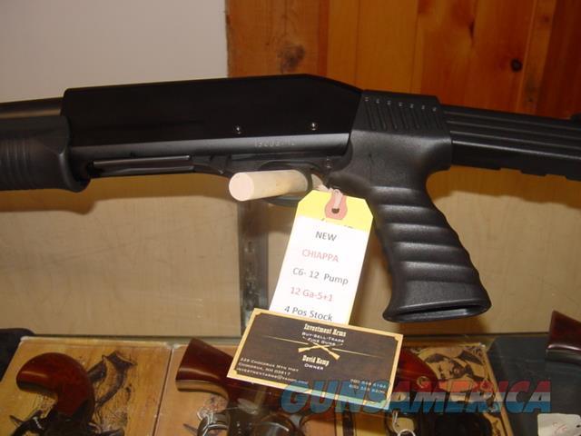 Chiappa C6 Pump 4 Postition Stock  Guns > Shotguns > C Misc Shotguns