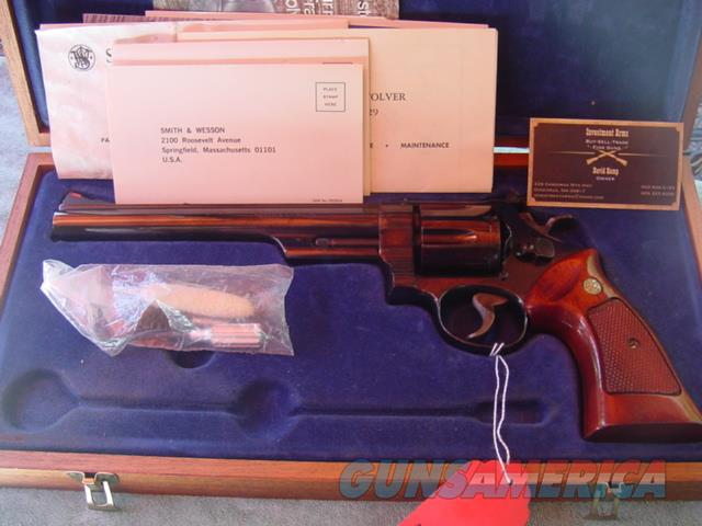 Smith & Wesson 25-5 Heavy Target barrel in display case  Guns > Pistols > Smith & Wesson Revolvers > Full Frame Revolver