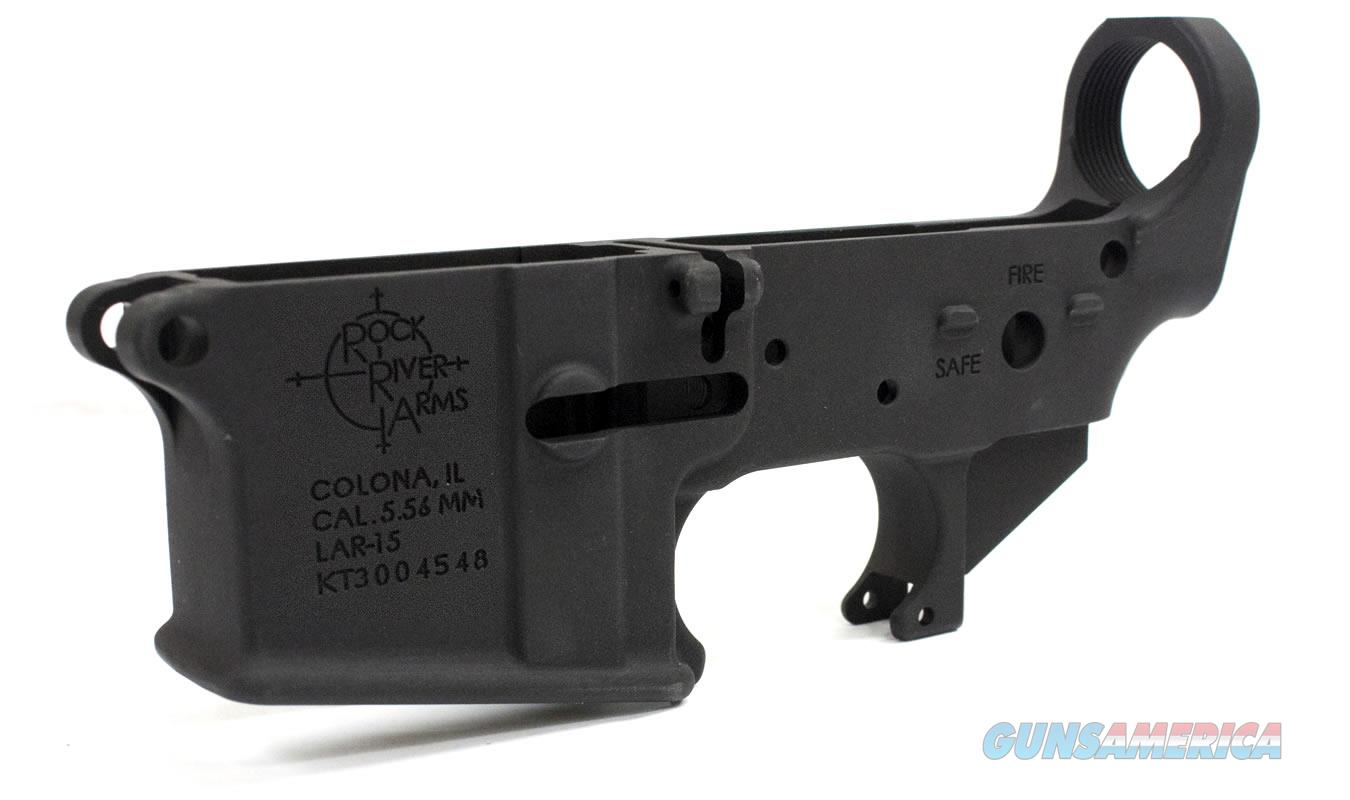 Rock River Arms AR15 Stripped Lower Receiver NIB  Non-Guns > Gun Parts > M16-AR15 > Upper Only