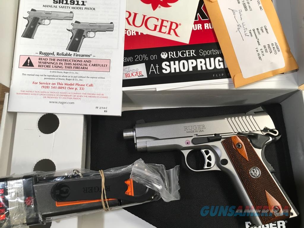Ruger Stainless Commander, .45ACP LNIB   Guns > Pistols > 1911 Pistol Copies (non-Colt)