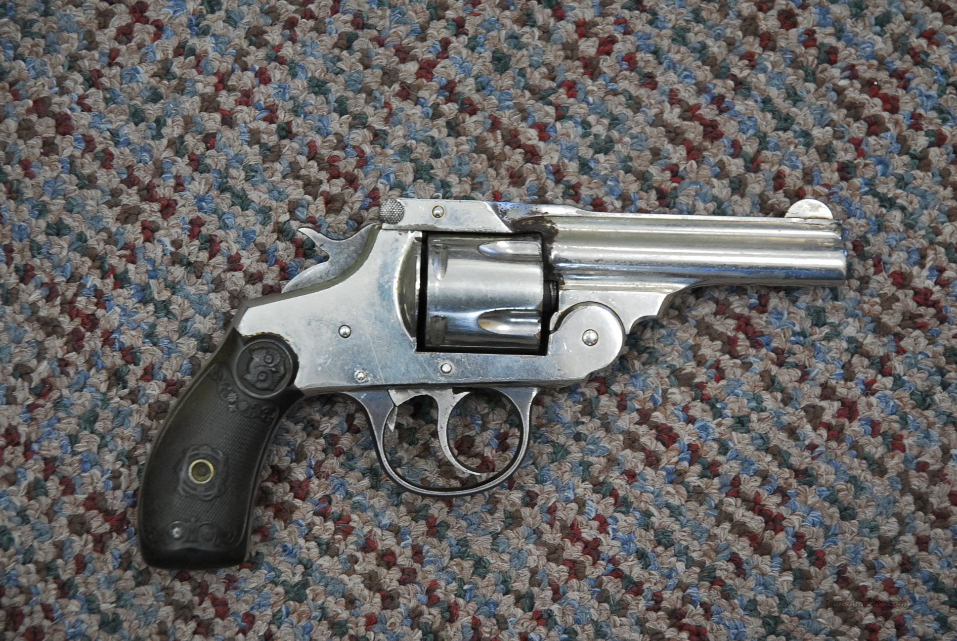IVER JOHNSON FIRST MODEL SAFETY AUTOMATIC HAMMER   Guns > Pistols > Iver Johnson Pistols