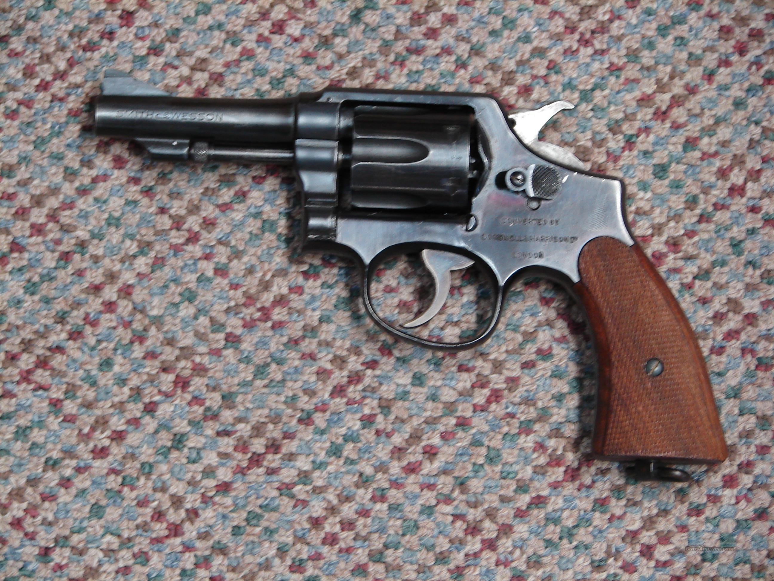 S&W Victory Lend Lease 38  Guns > Pistols > Smith & Wesson Revolvers > Pre-1945