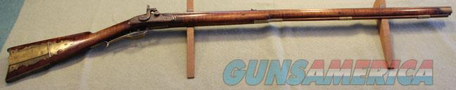 "Pennsylvania .45 cal. Full Stock signed by "" Jacob Hoak""  Guns > Rifles > Antique (Pre-1899) Rifles - Perc. Misc."