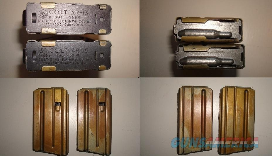 Colt Early AR-15 Magazines SP-1 Vietnam Era   Non-Guns > Magazines & Clips > Rifle Magazines > AR-15 Type