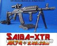 SAIGA-XTR AK74 TACTICAL RIFLE PACKAGE! GUN-KOTE™+1X4 CQB SCOPE+THREADED MUZZLE+BIPOD+MORE!  Saiga Rifles